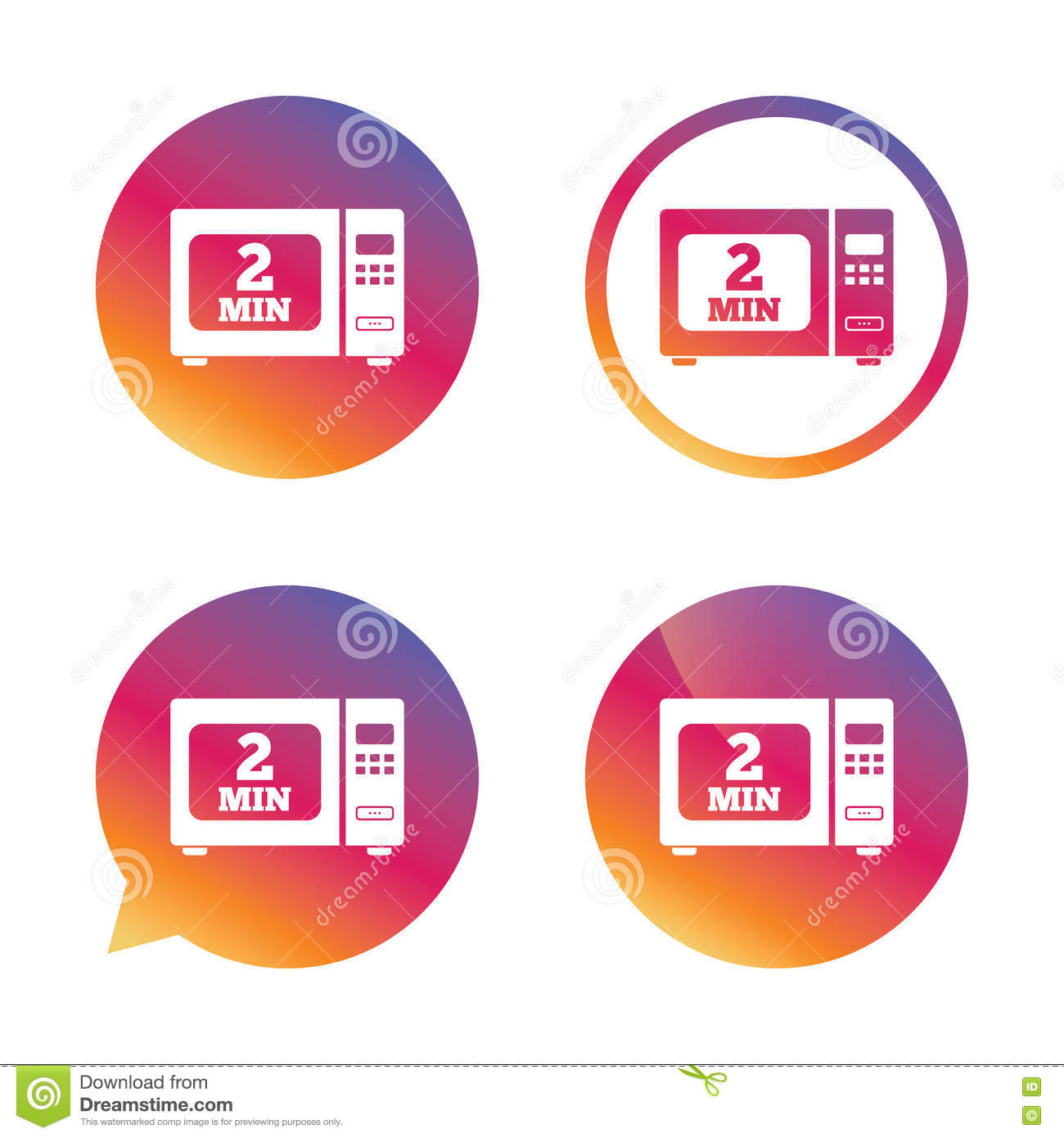 Cook In Microwave Oven Sign Icon Electric Stove Stock Vector Ranges Wiring Diagram Symbols
