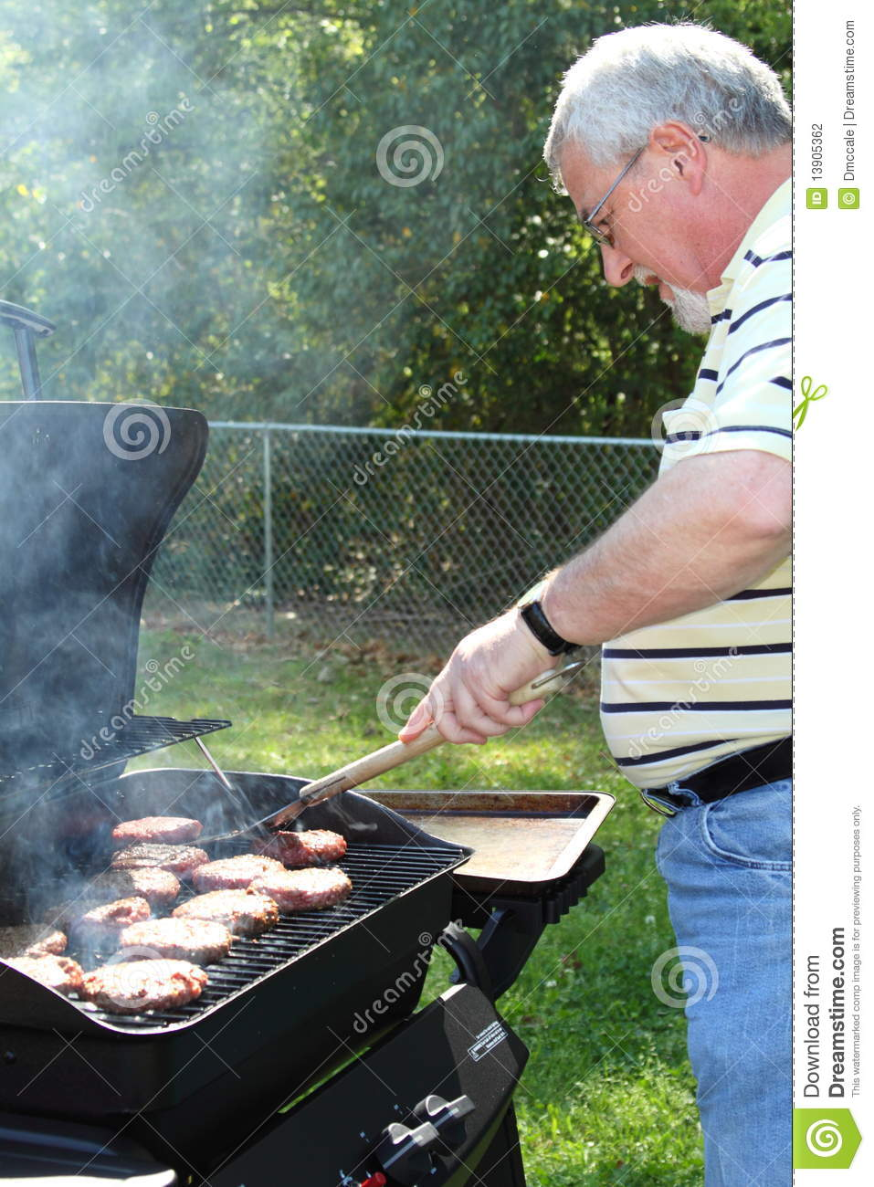 Cook out burgers