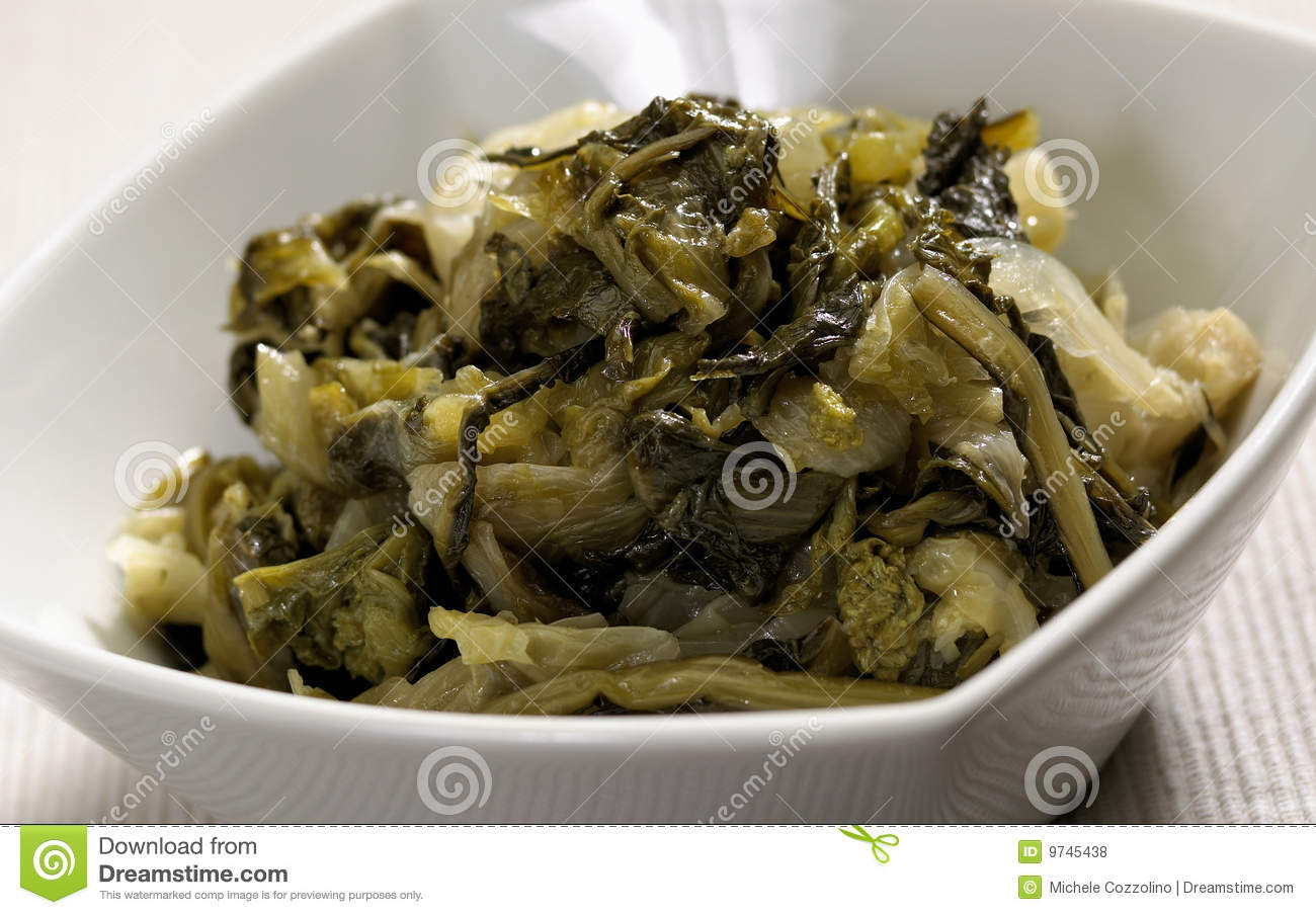 Cooked Escarole Royalty Free Stock Photos - Image: 9745438