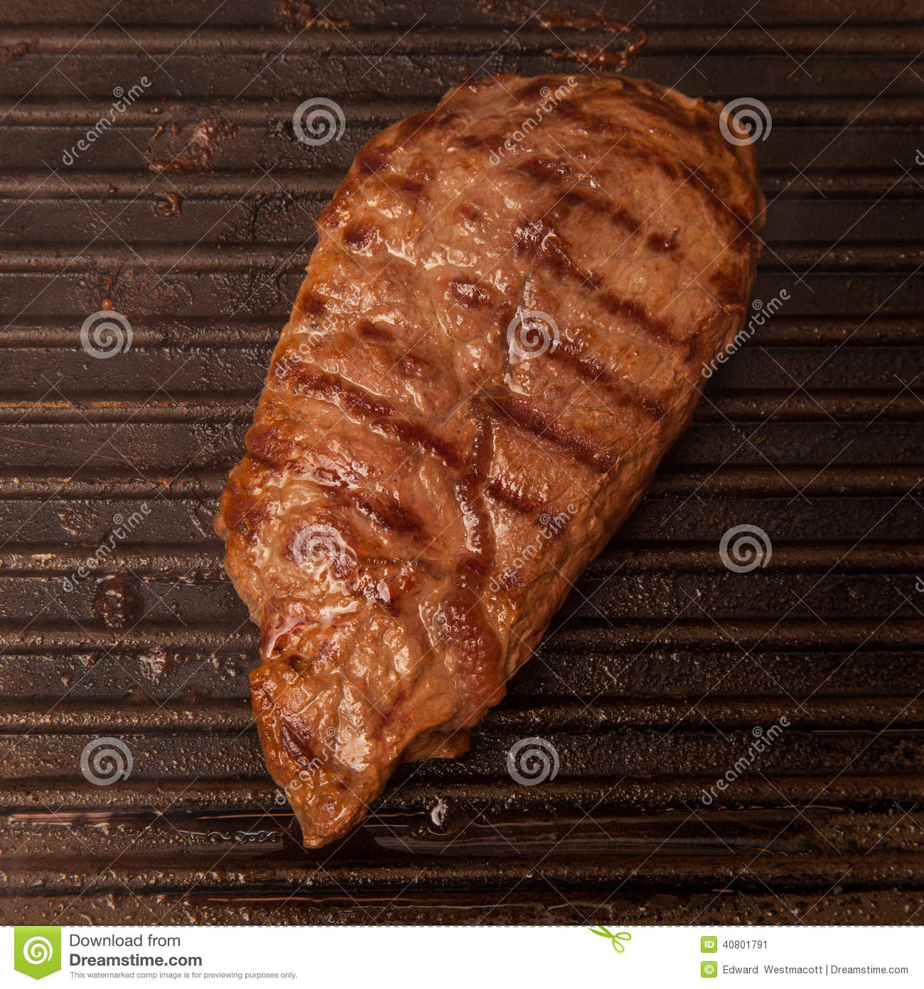 Cooked Horse Meat Steak Stock Photo - Image: 40801791