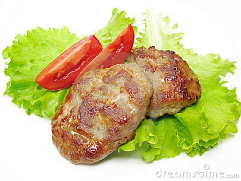 Pictures Of Cooked Meat Cooked meat cutlets with