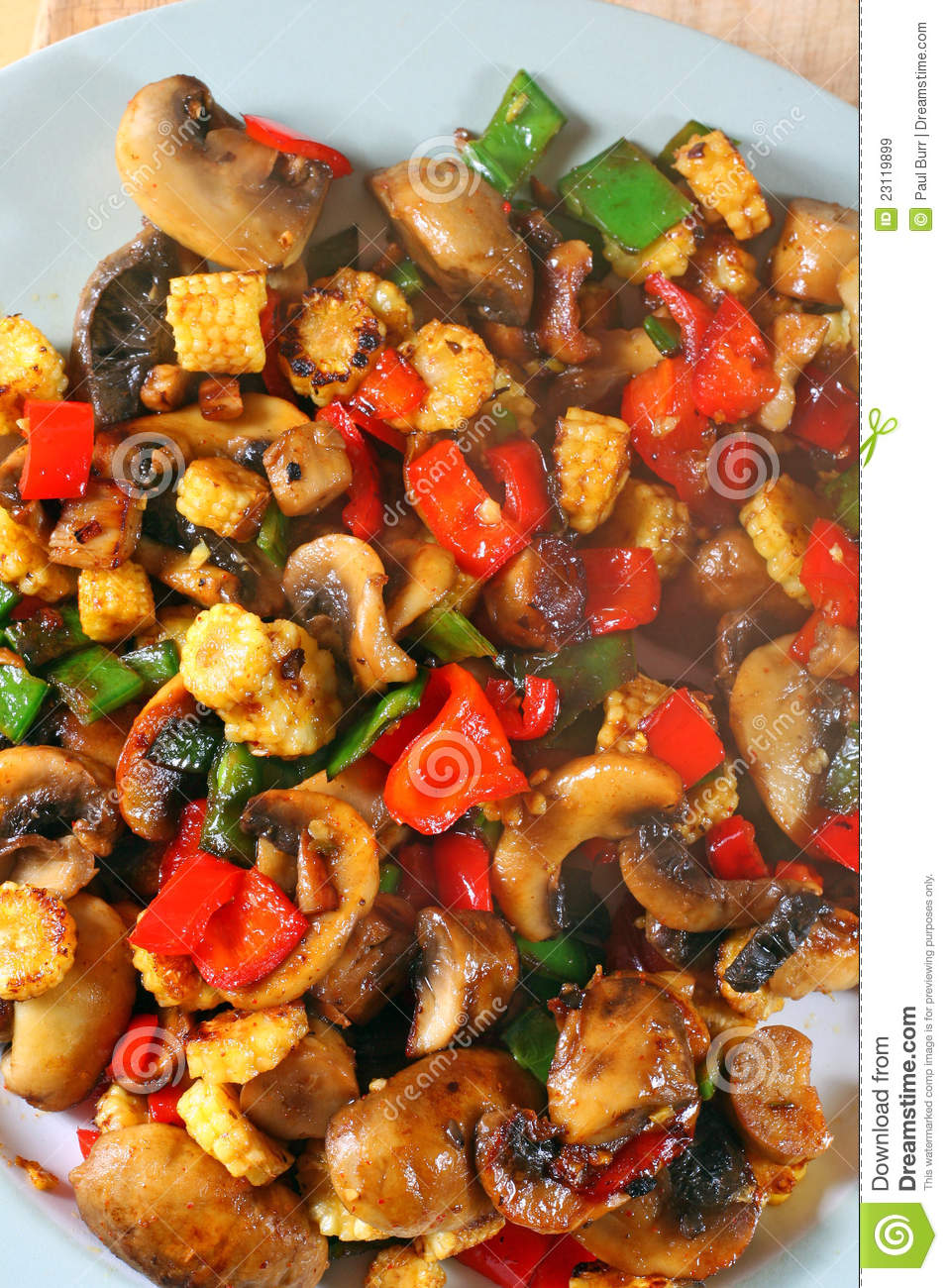 Download Cooked Stir Fry Vegetables-Healthy Concept. Stock Image - Image of mange, vegetables: 23119899