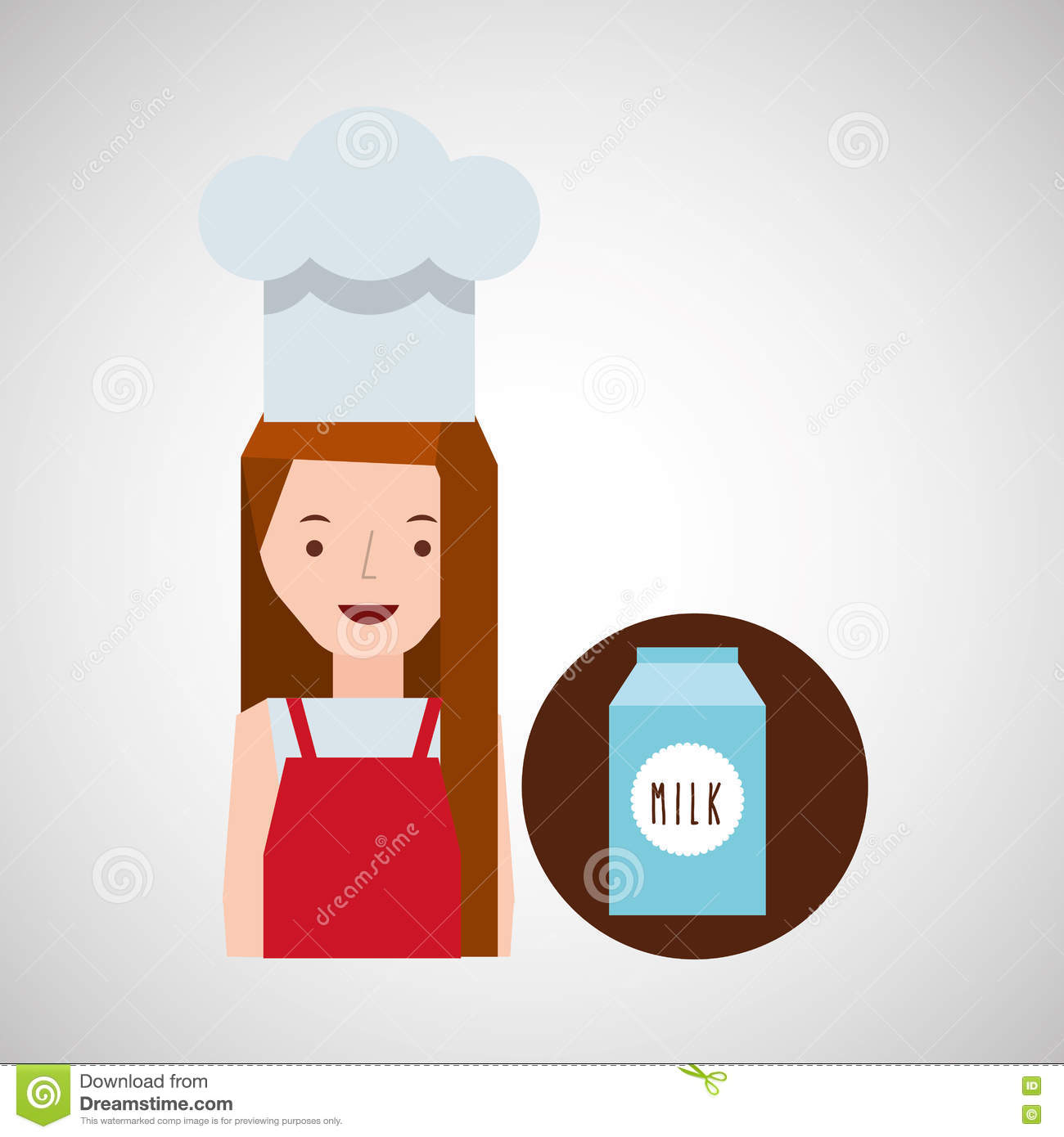 78739455a0a4e Background Girl Cooker Stock Illustrations – 251 Background Girl Cooker  Stock Illustrations