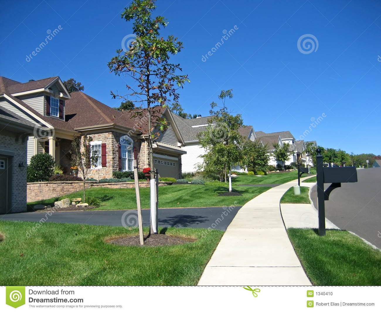 Cookie cutter houses stock photo image 1340410 for Cookie cutter house plans