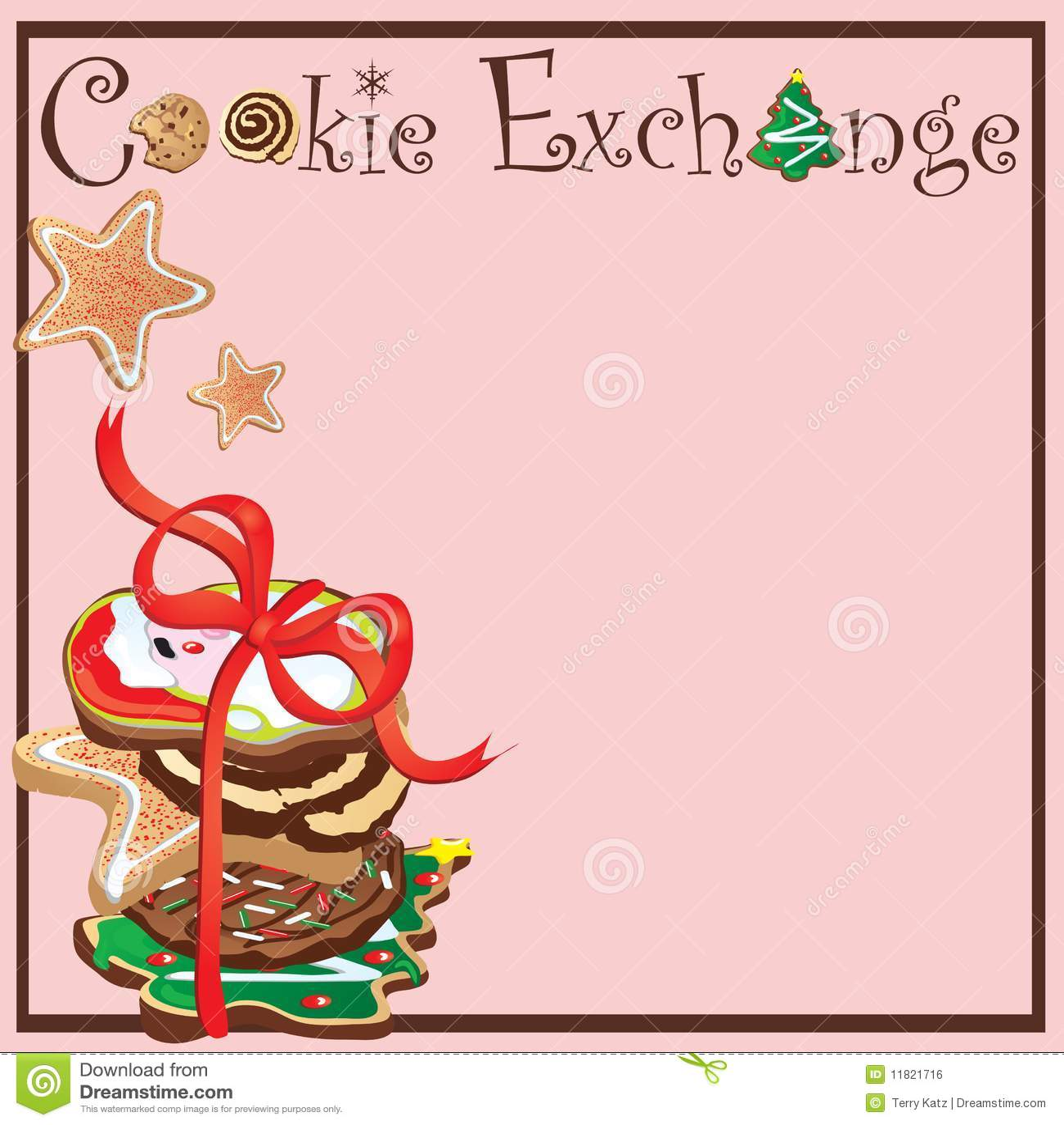 free christmas cookie borders clip art - photo #30