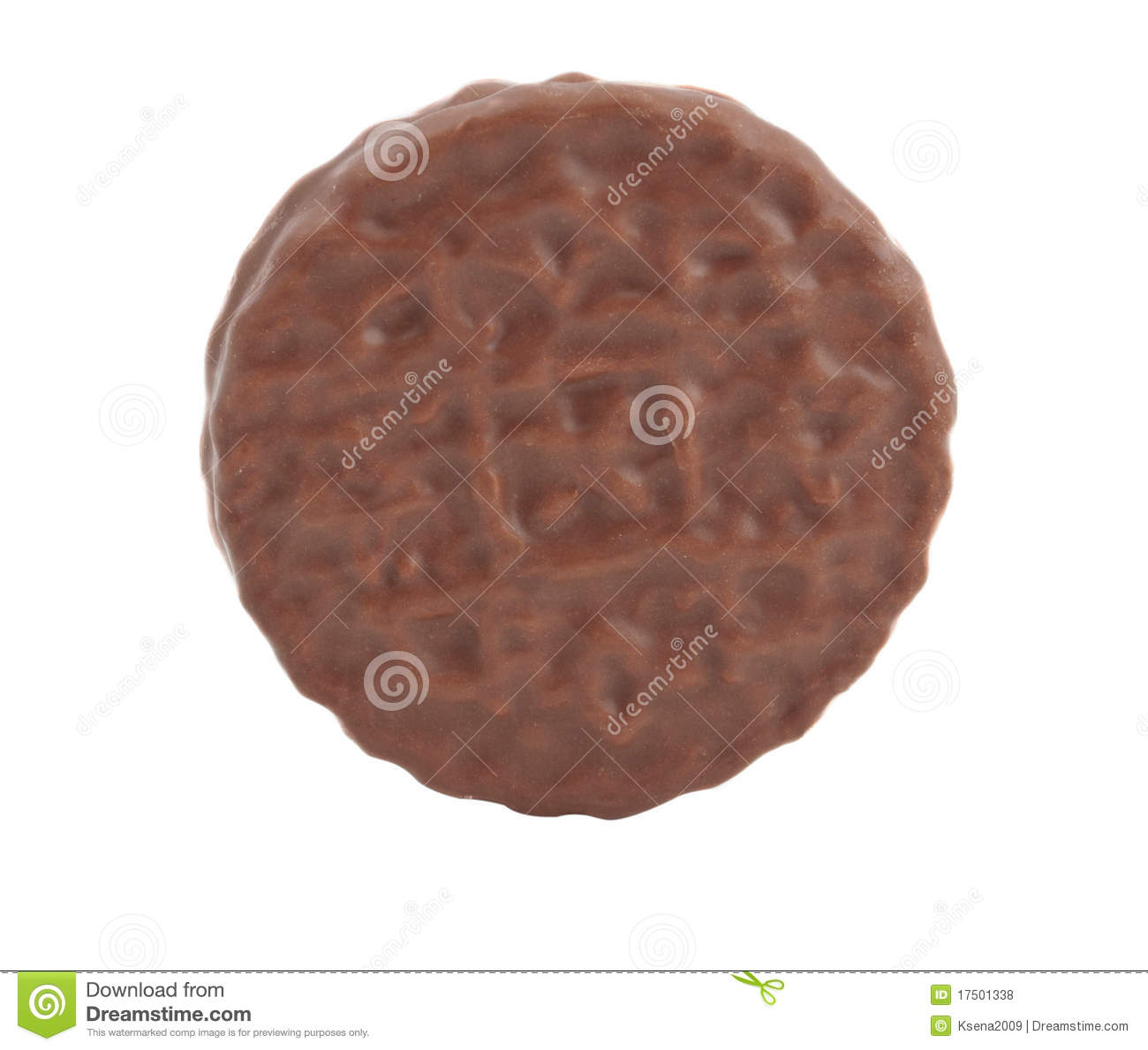 Cookies With Chocolate Glaze Royalty Free Stock Photos - Image ...