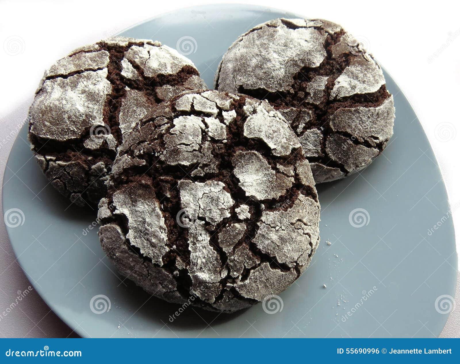 Cookies da dobra do chocolate