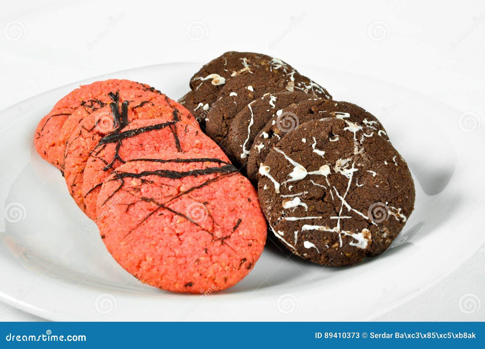 Cookies deliciosas da variedade