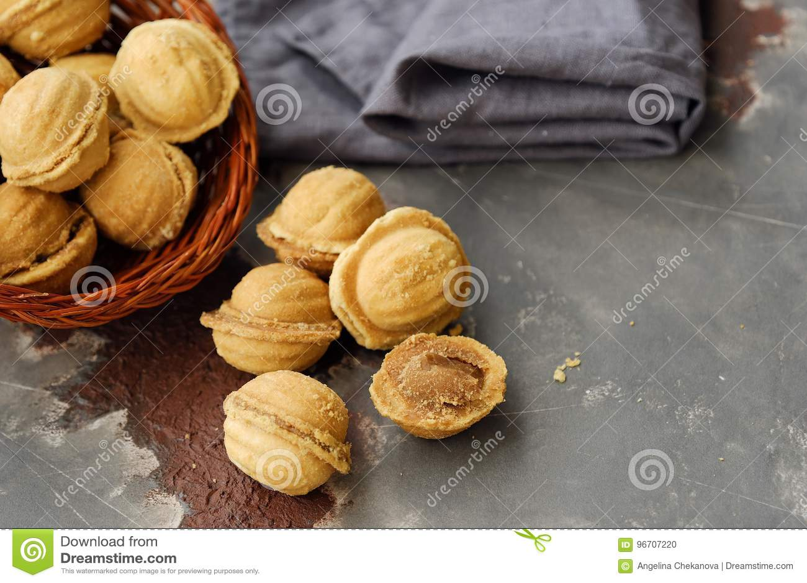 Cookies deliciosas nuts com leite condensado