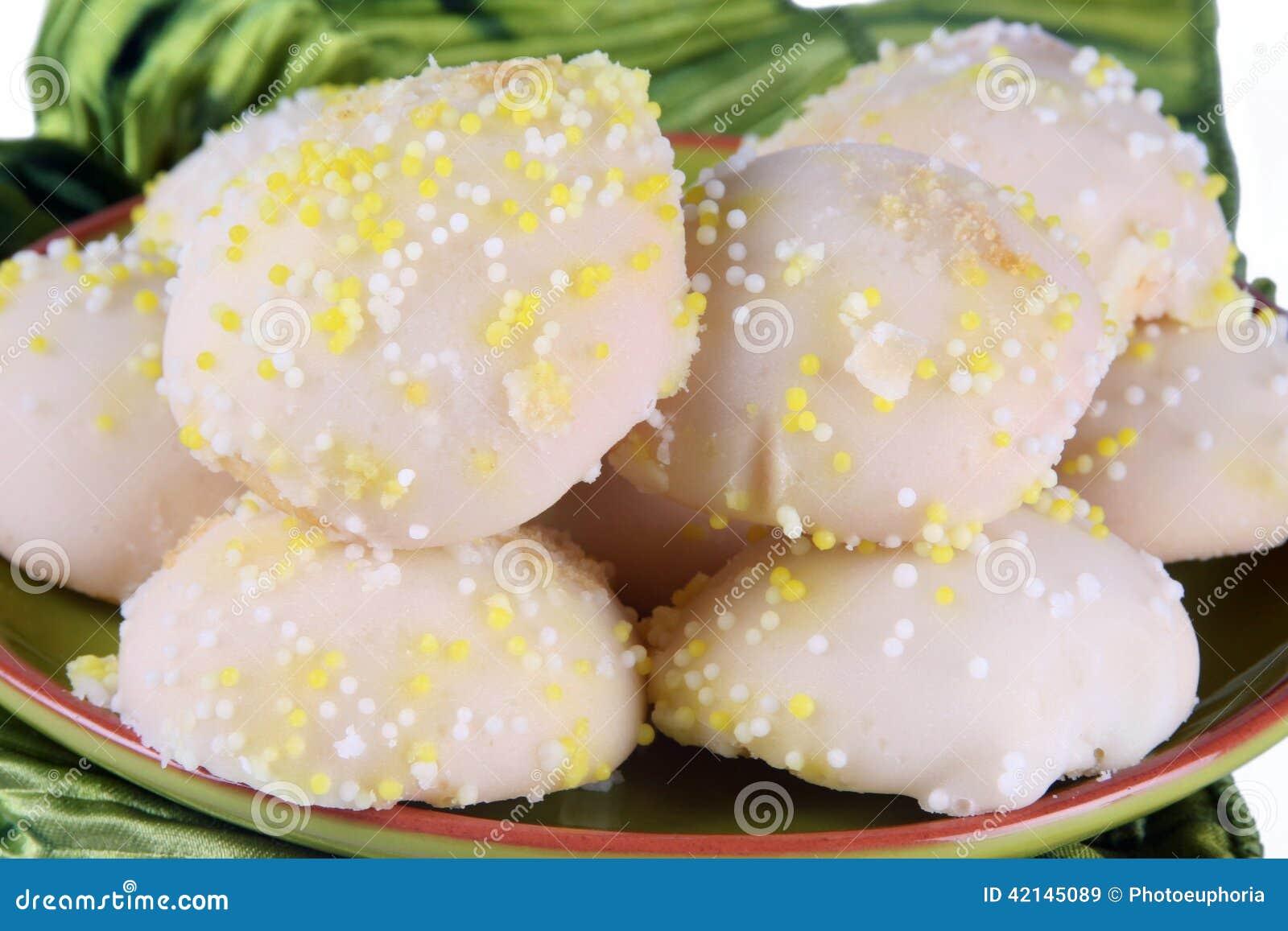 Cookies do limão