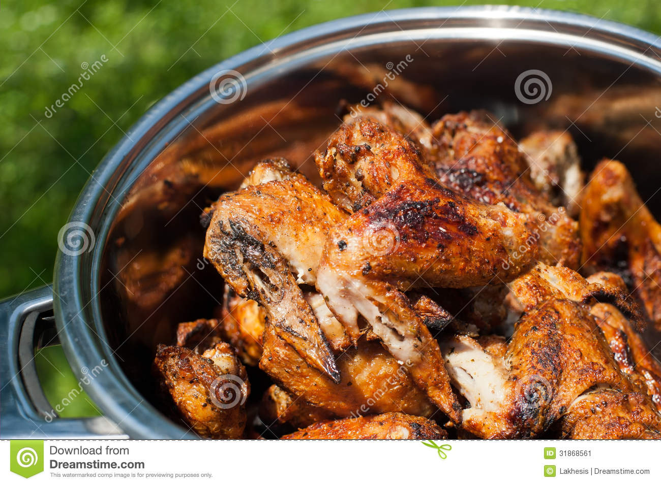 how to cook grill chicken wings