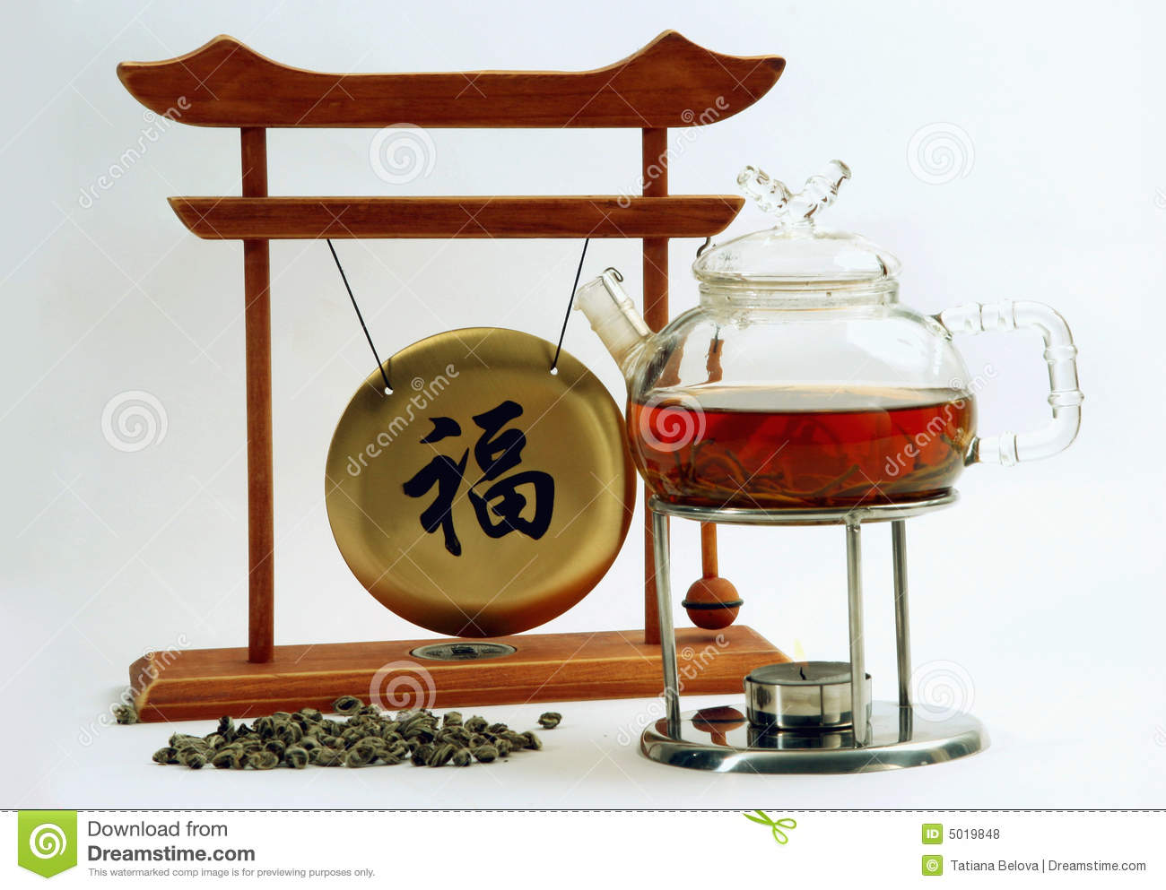 Cooking of chinese tea