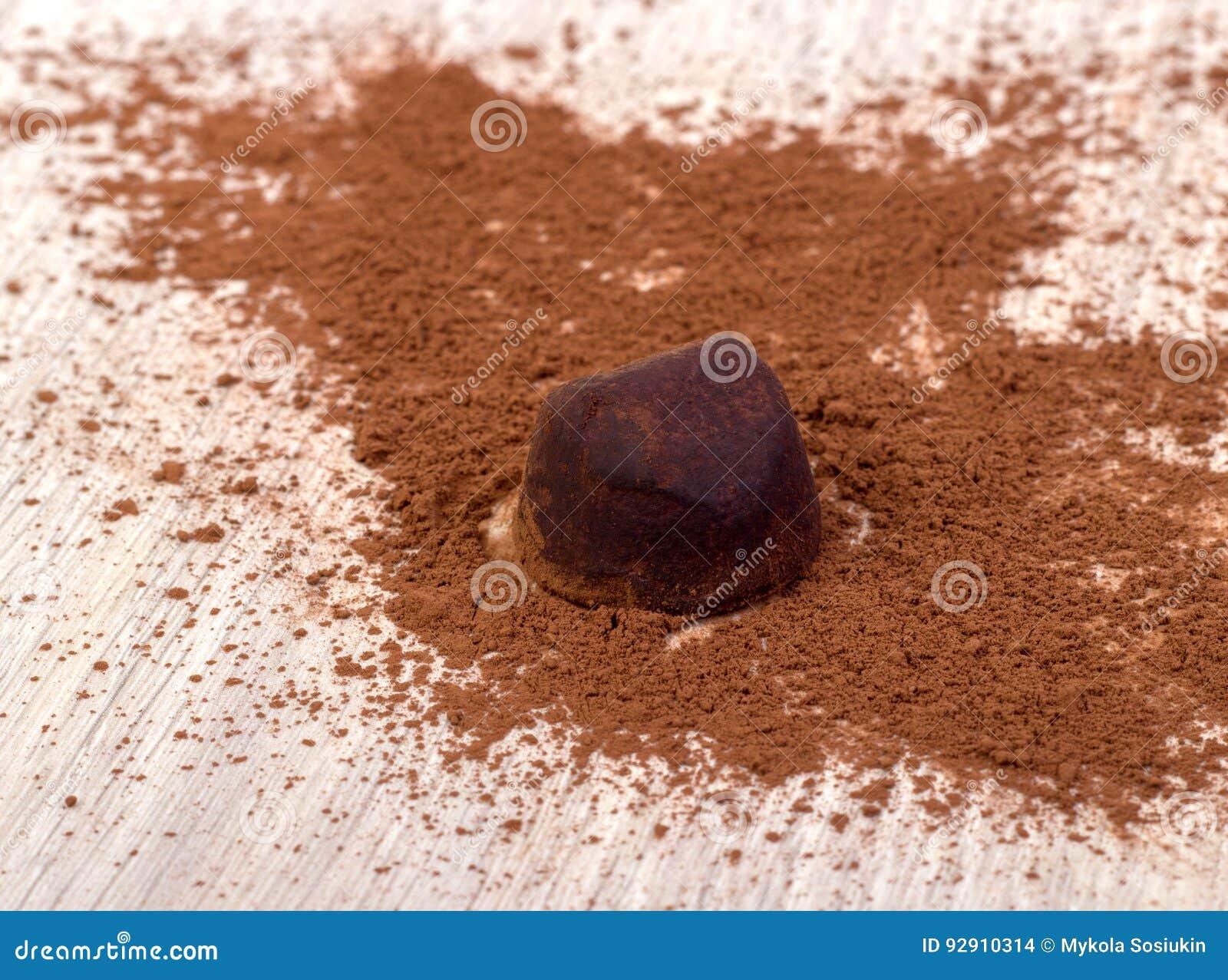 Cooking chocolate truffles