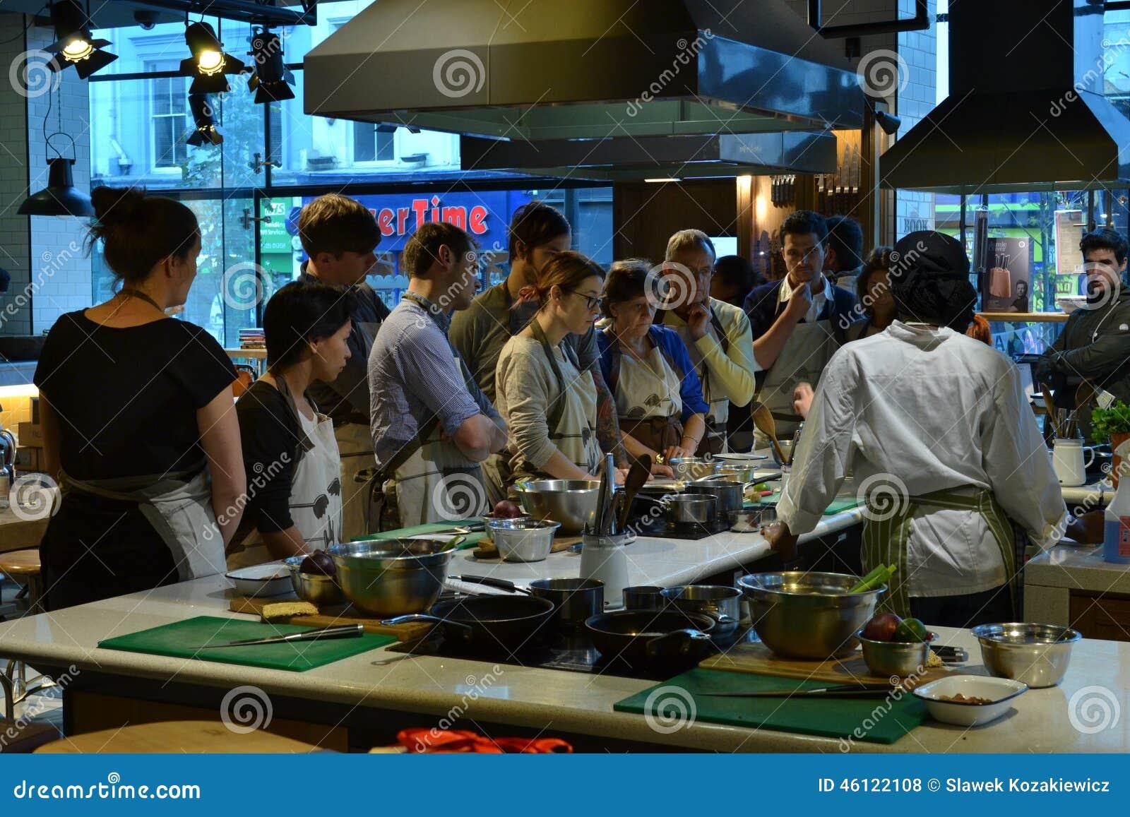 Cooking class deals london