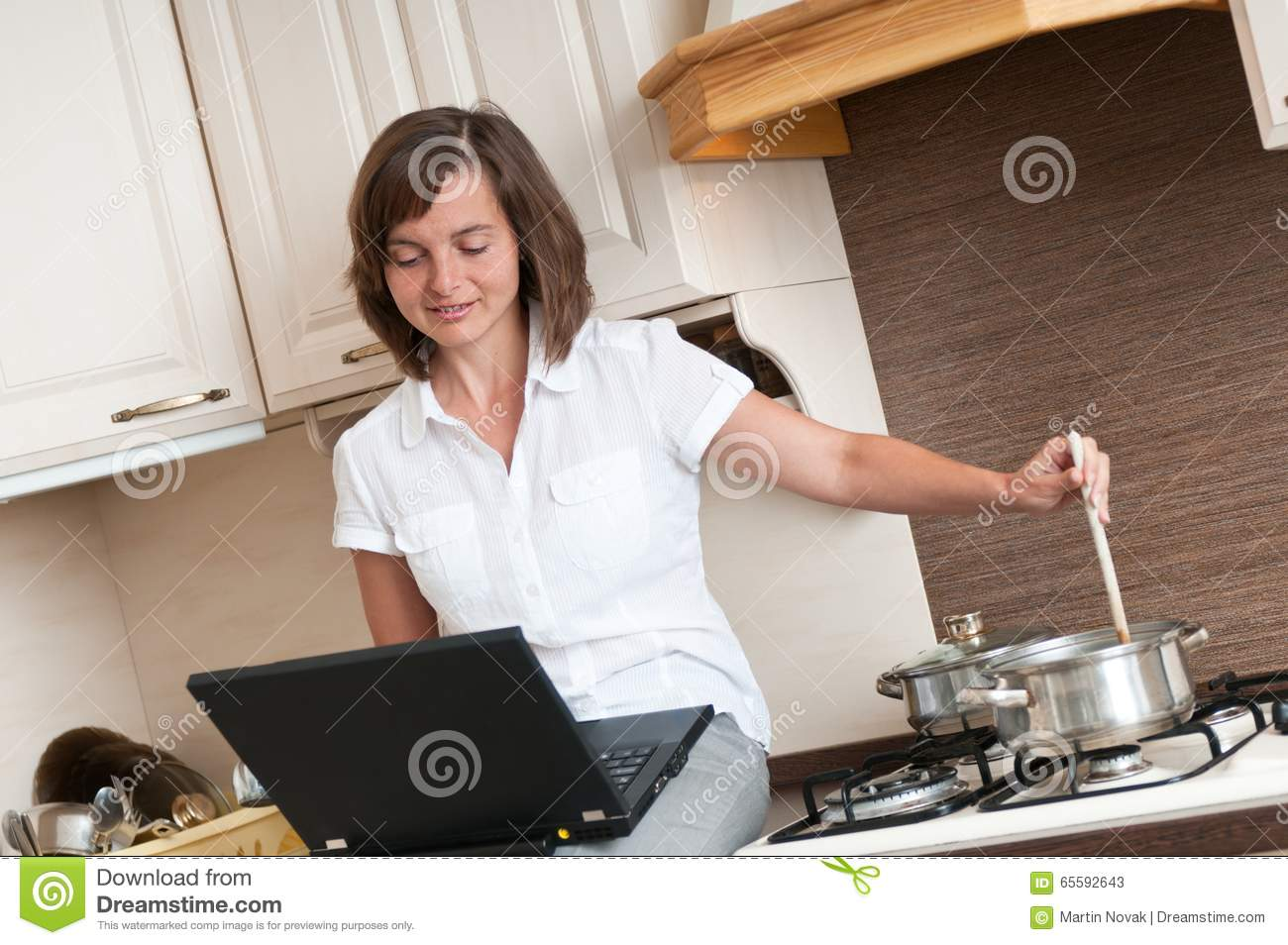 Cooking with computer