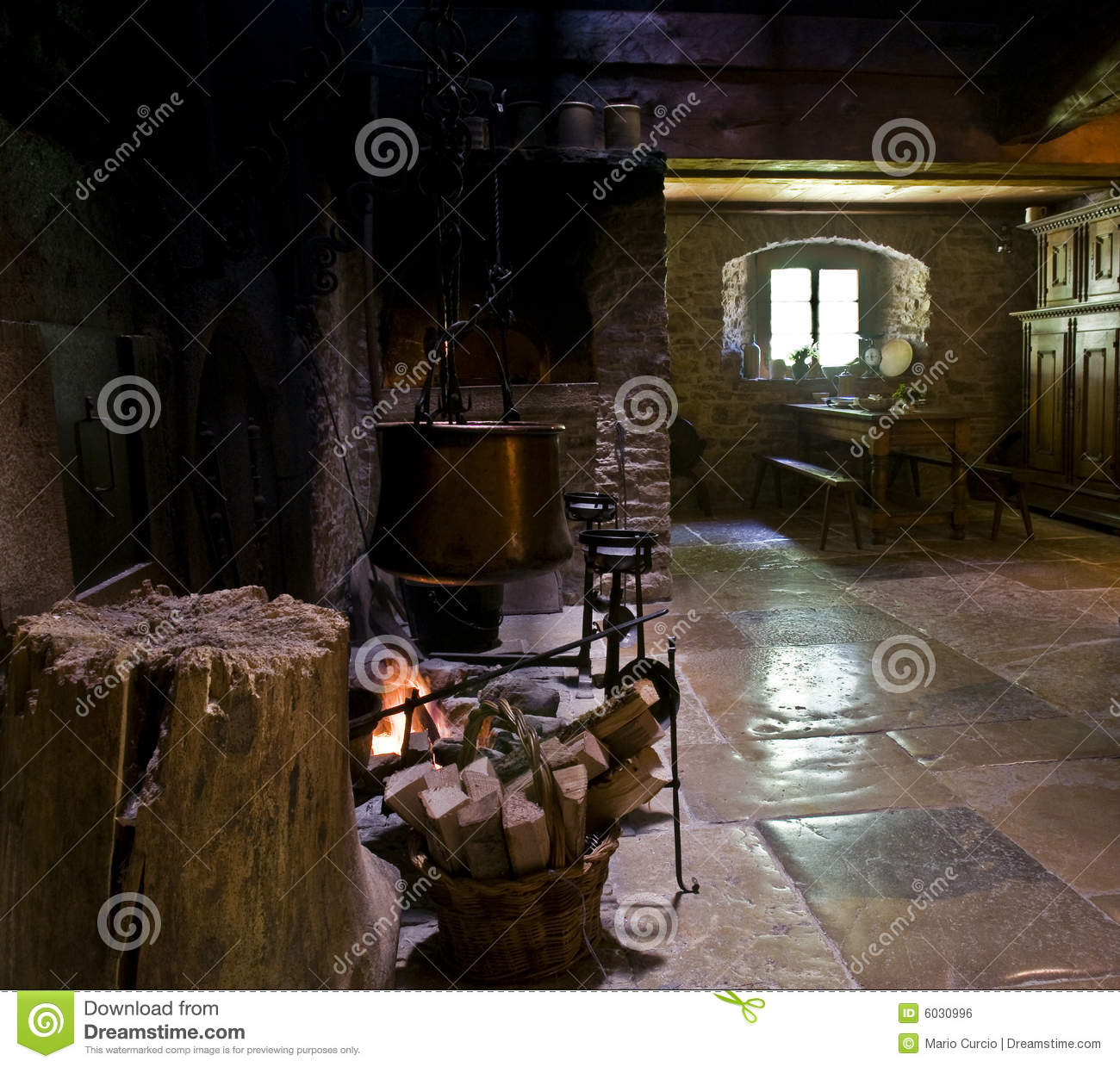 cooking on fireplace royalty free stock image image 6030996