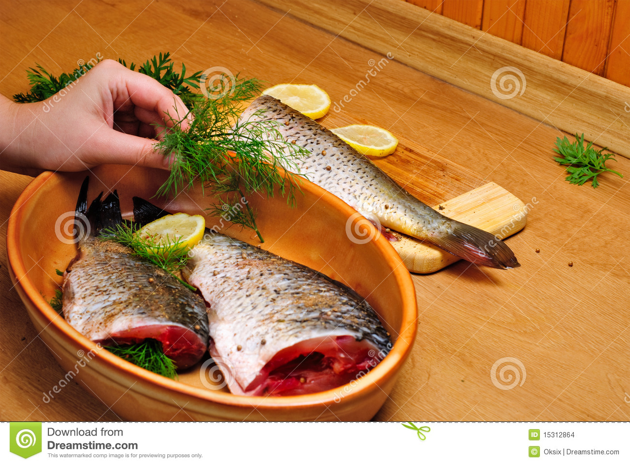 Cooking fish stock images image 15312864 for Cookery fish creek