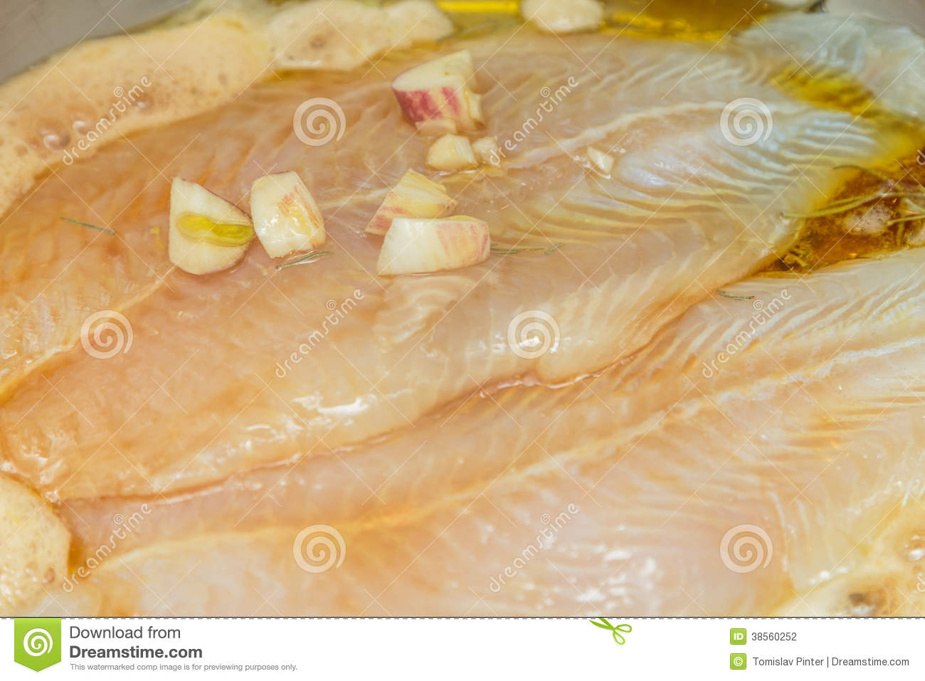 Cooking Fish Fillet Stock Photography Image 38560252