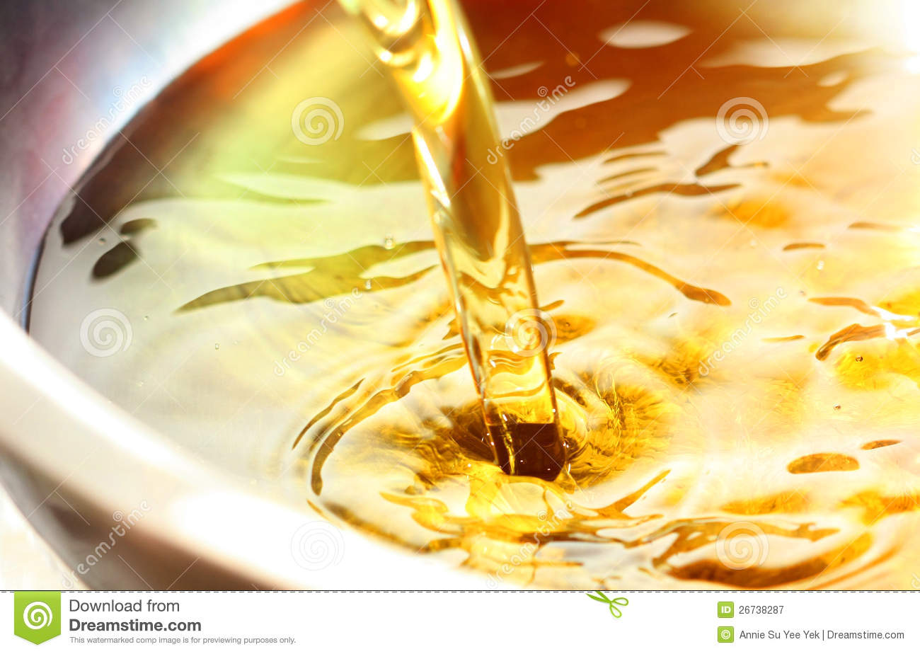 Royalty Free Stock Photography Cooking Oil Image 26738287