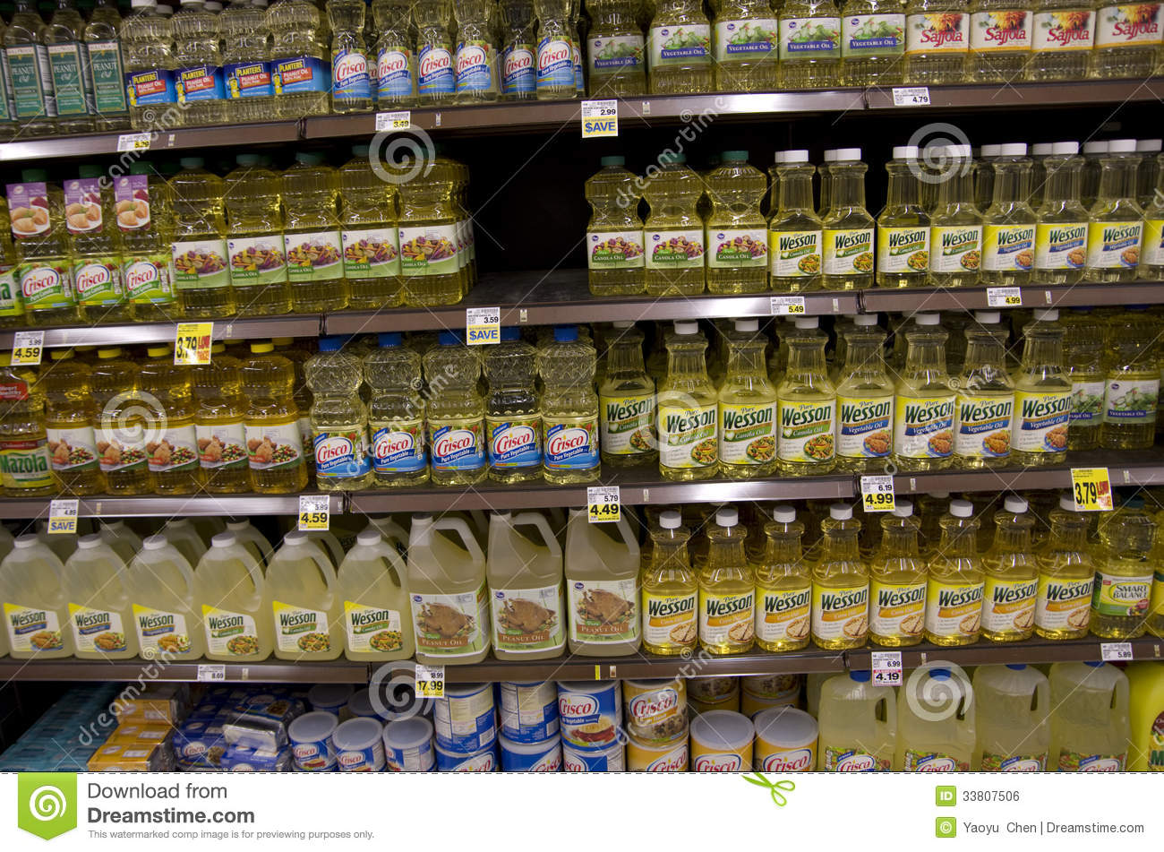 types of vegetable oil pdf