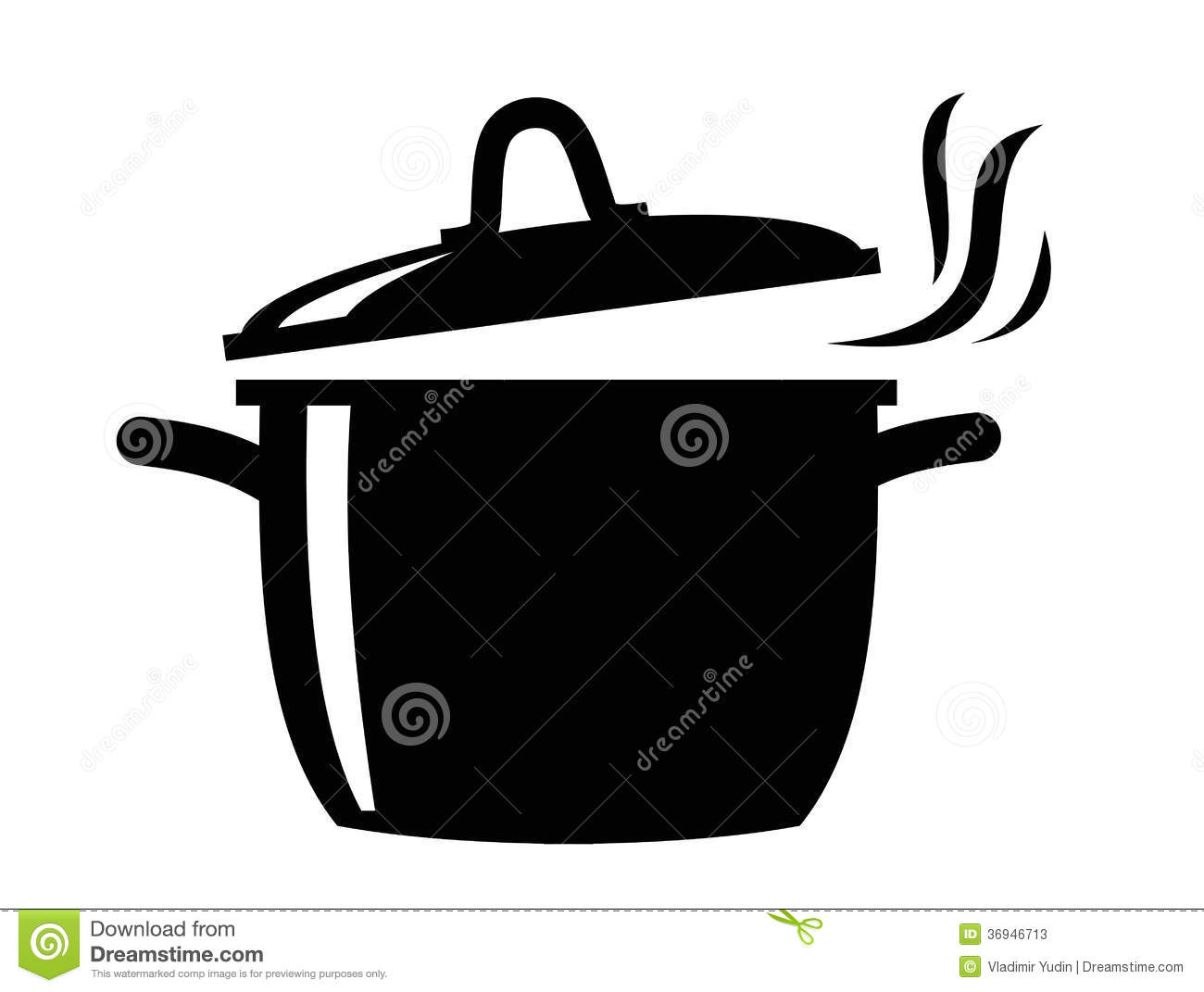 Cooking Pan Icon Stock Photos - Image: 36946713