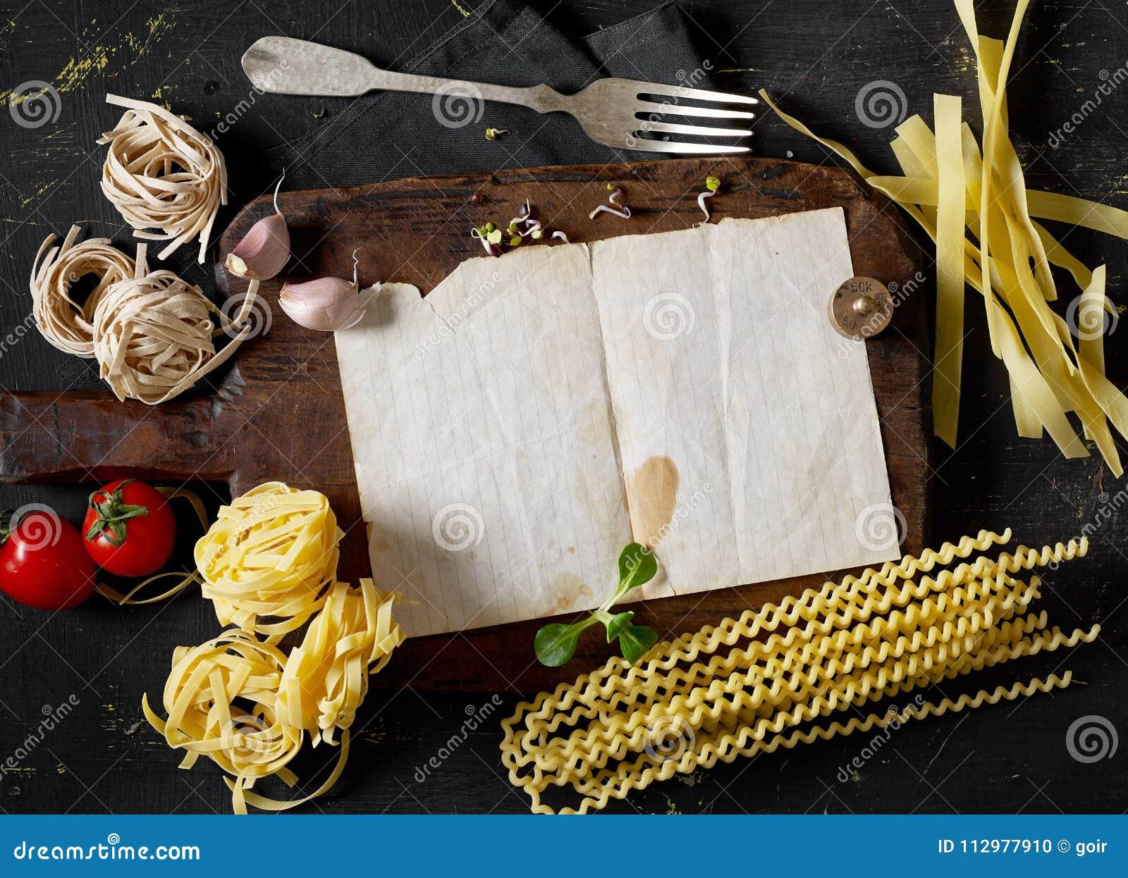 Cooking pasta receipe