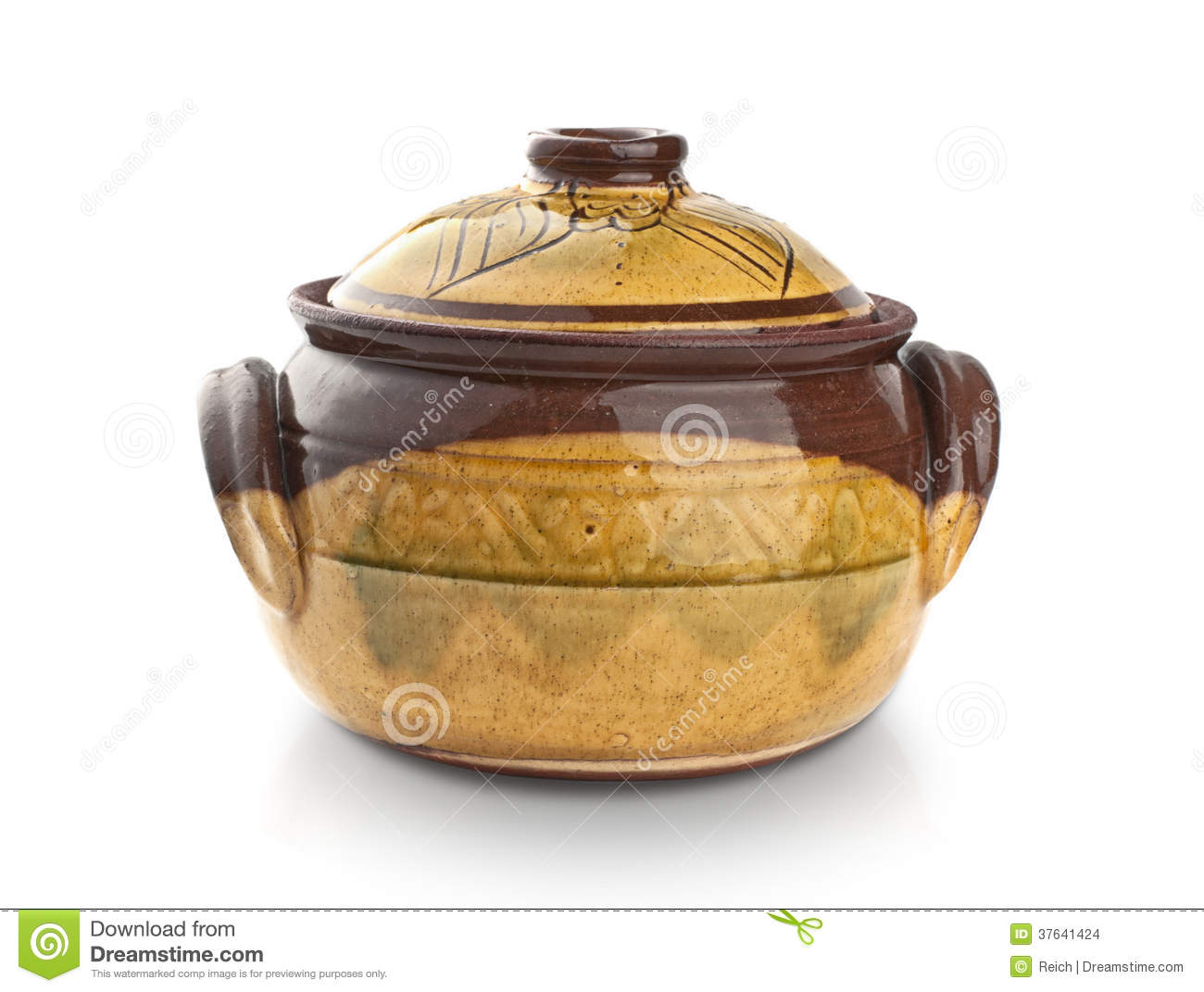 Cooking Pot Stock Images Image 37641424
