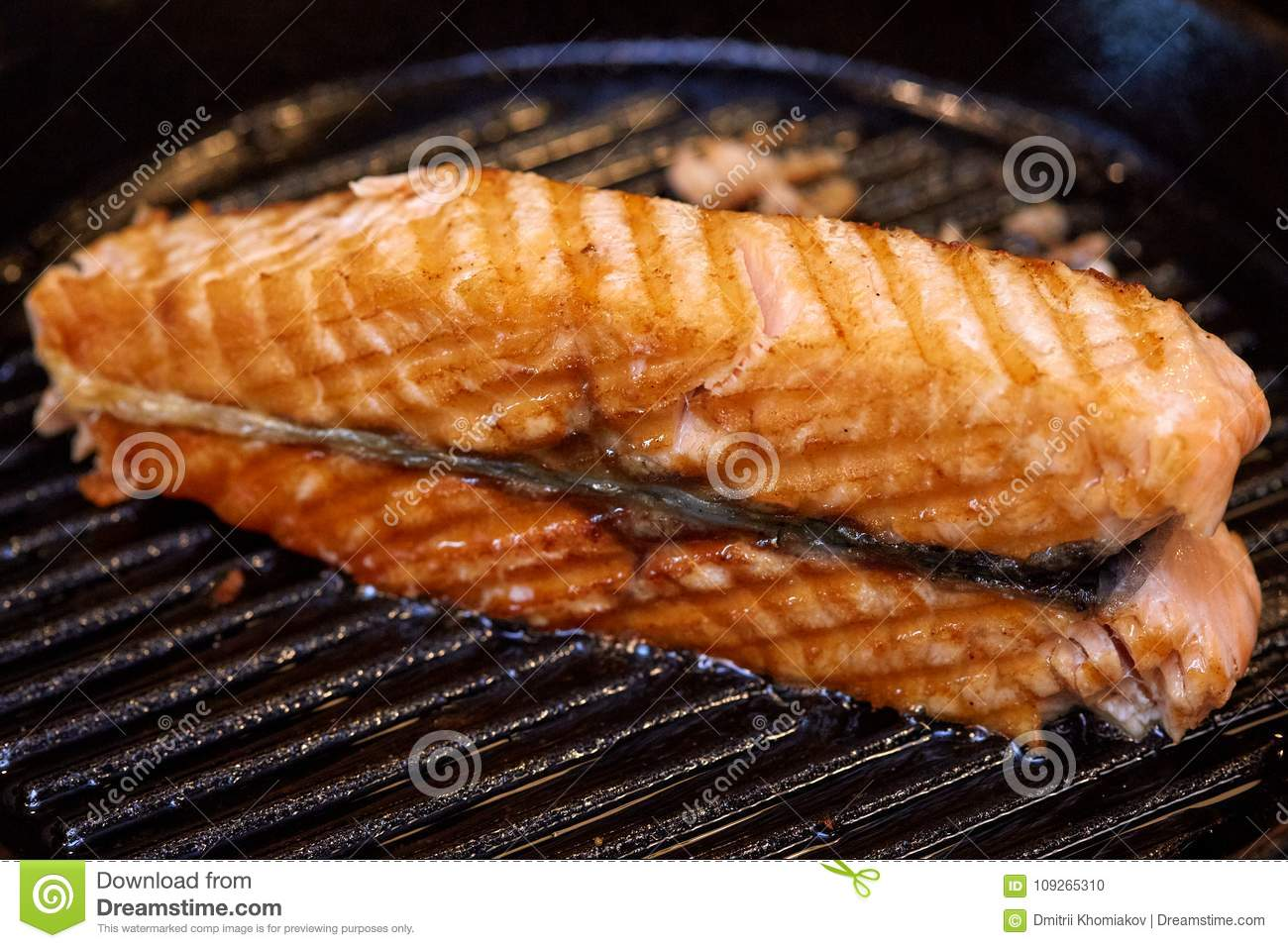 how to grill fish in pan