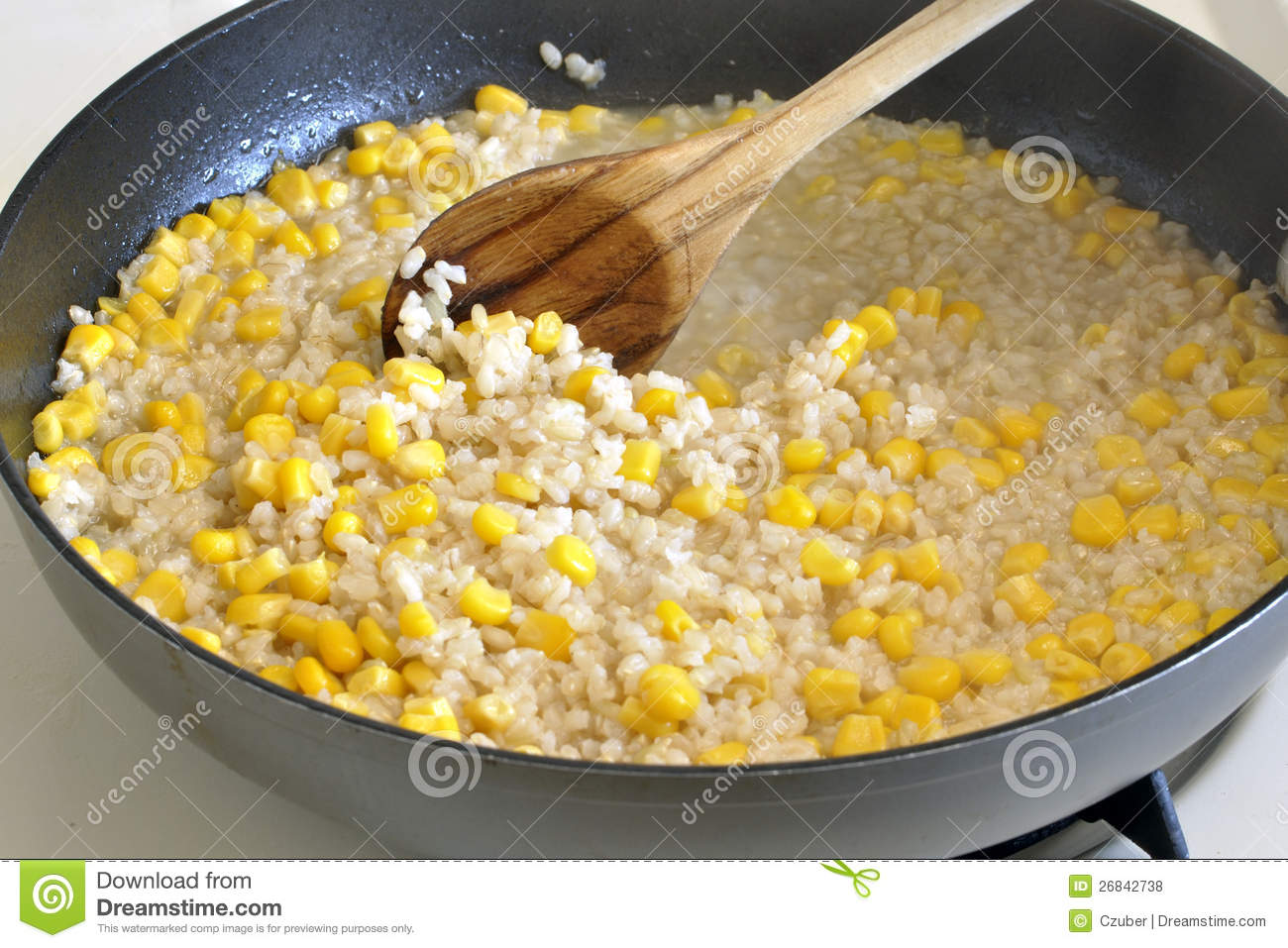 Cooking rice and corn stock photo image of vegetarian 26842738 royalty free stock photo download cooking rice and corn ccuart Choice Image
