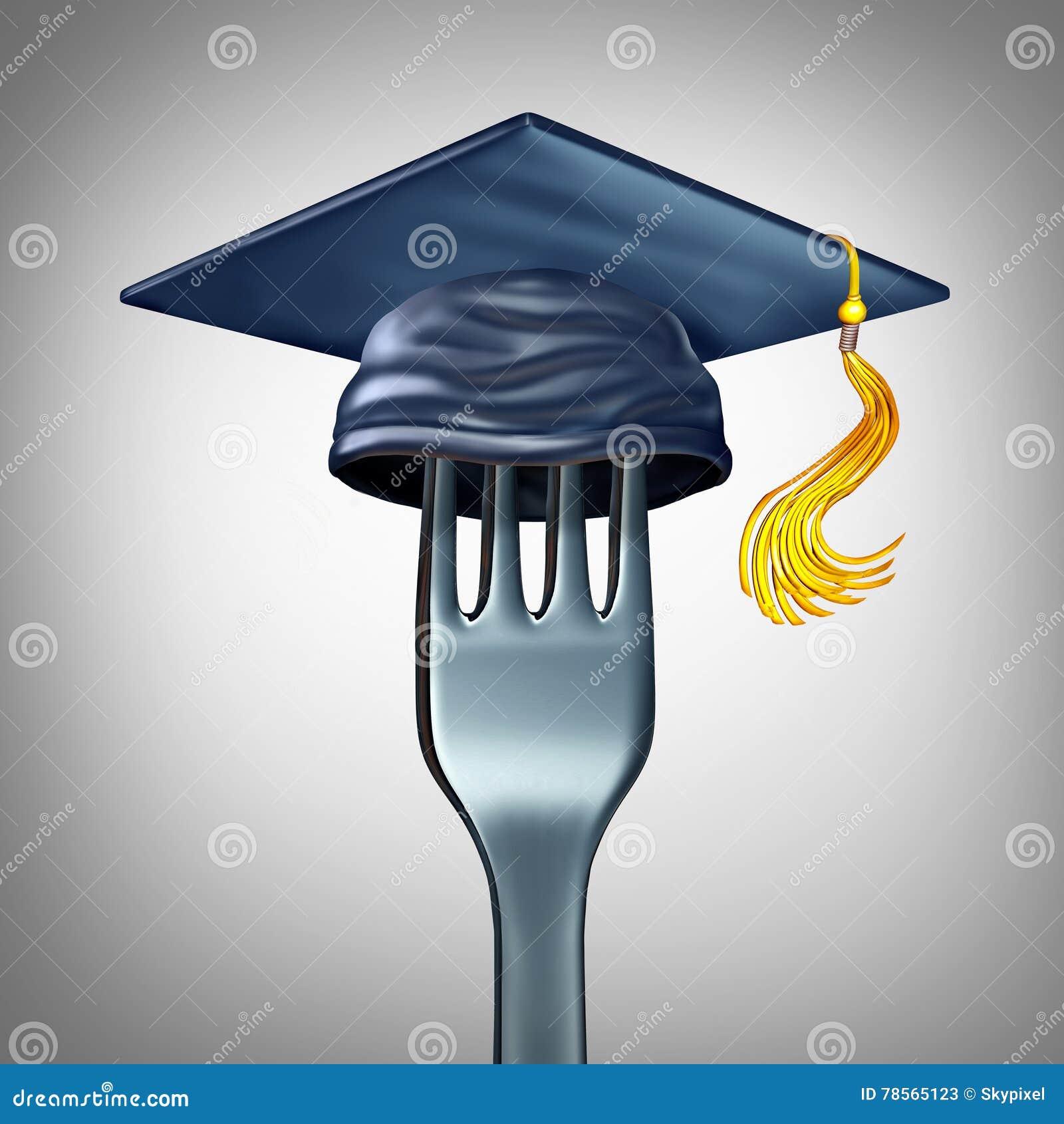 Cooking School Symbol Stock Illustration Illustration Of Nutrition