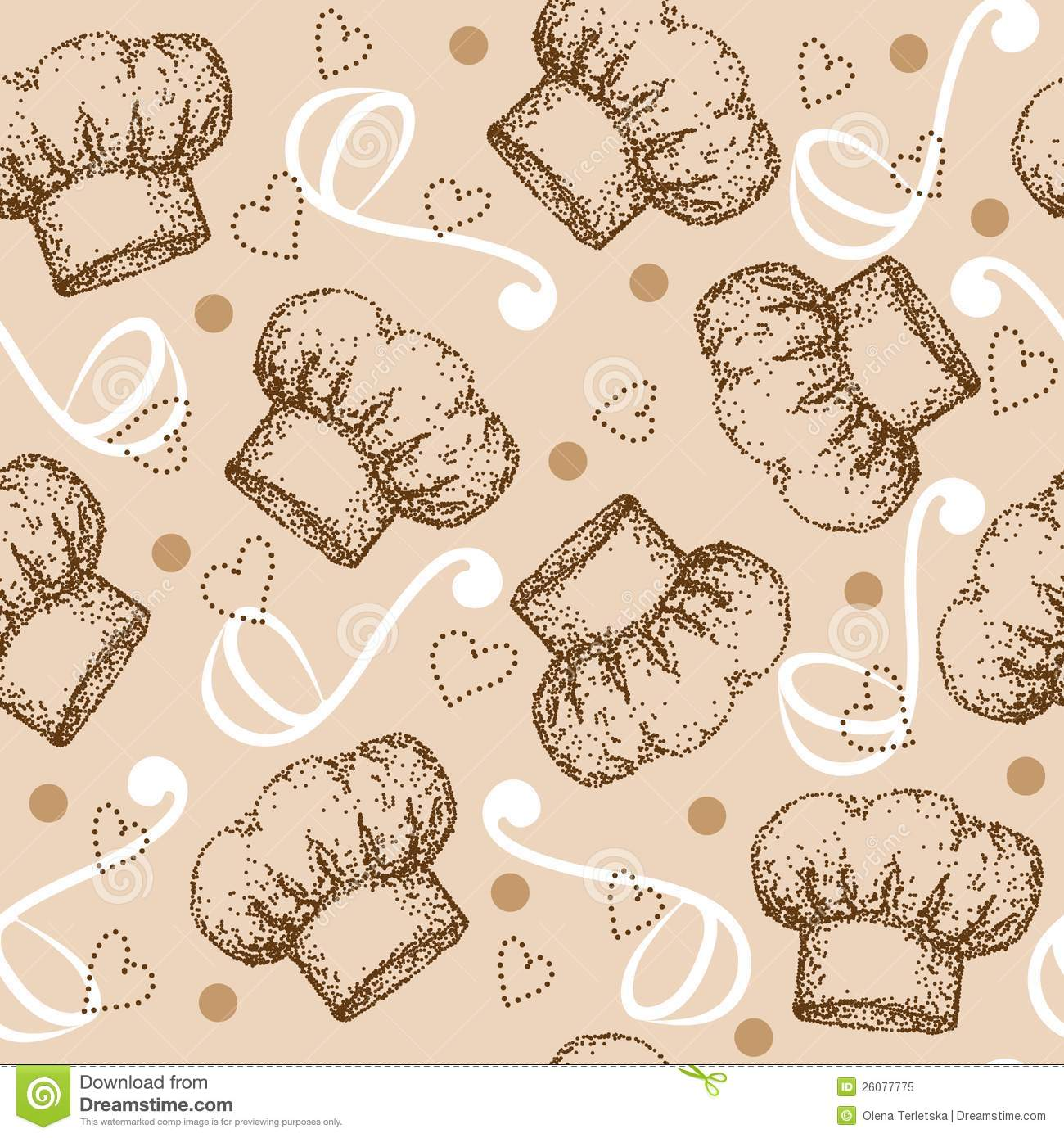 be84b144fa5 Cooking Seamless Pattern With Chef Hat Stock Vector - Illustration ...