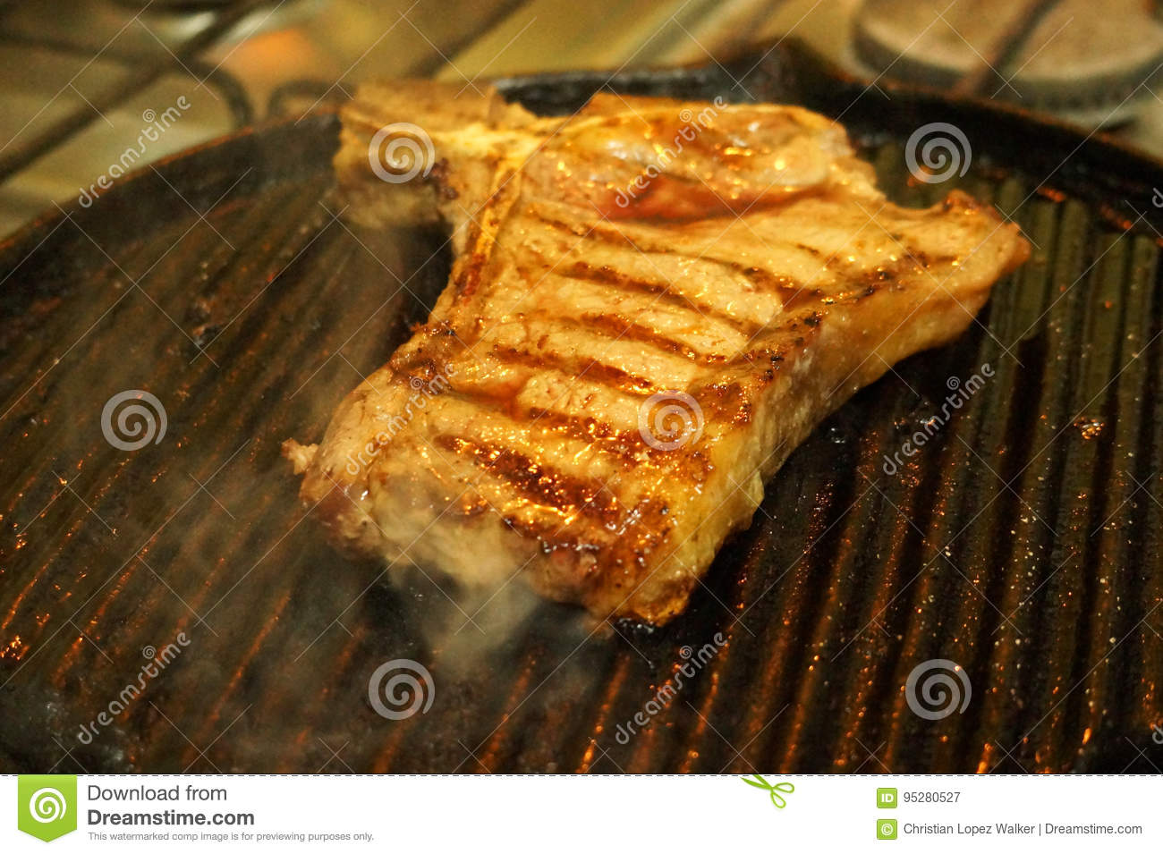 how to cook t bone steak on stove