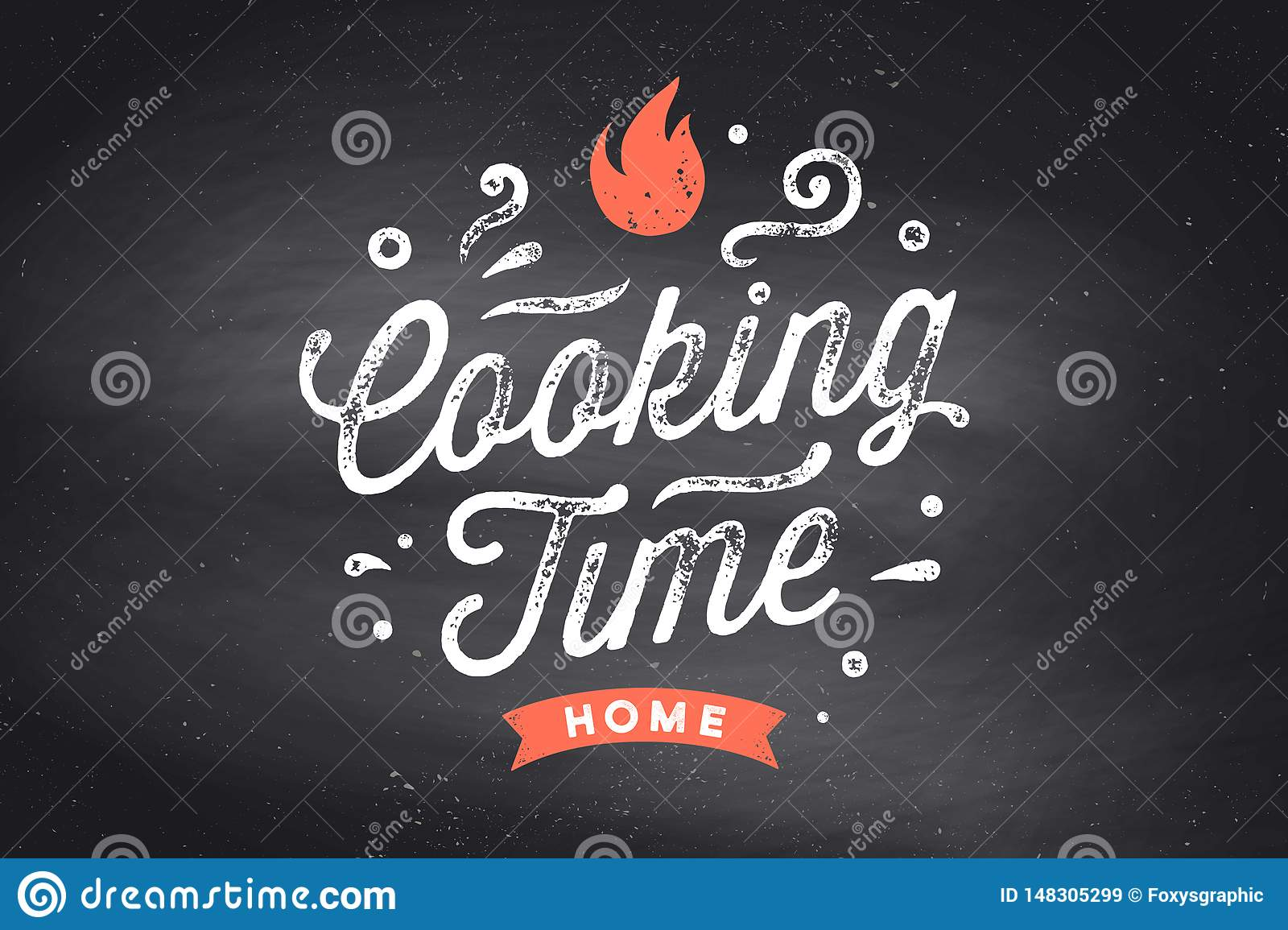 Cooking Time. Kitchen Poster. Kitchen Wall Decor, Sign