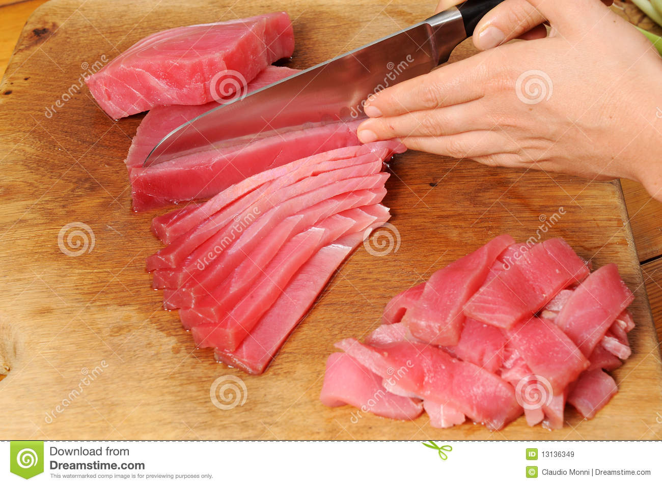 Cooking tuna fish stock image image of gastronomy close for What do tuna fish eat