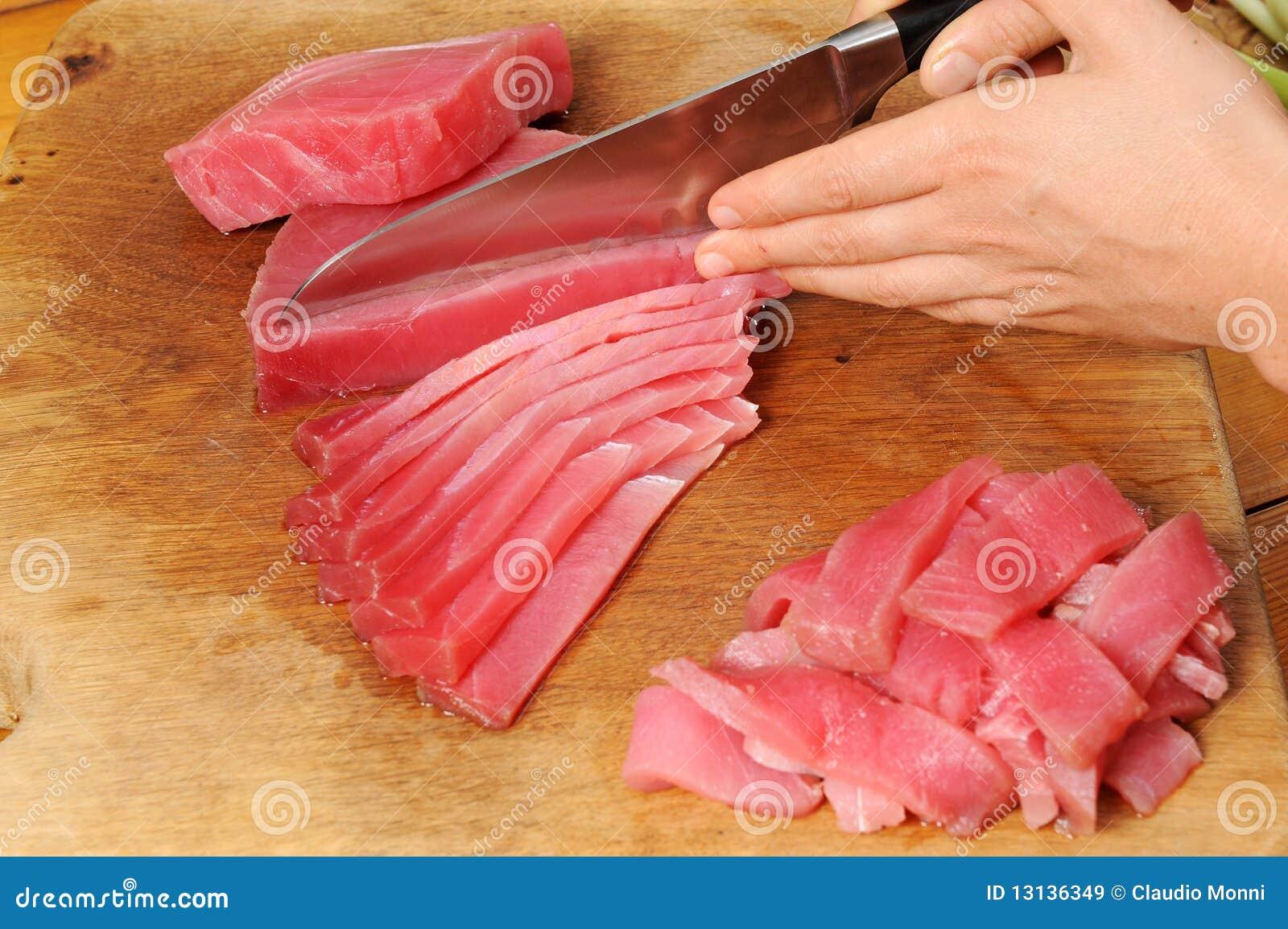 Cooking Tuna Fi...