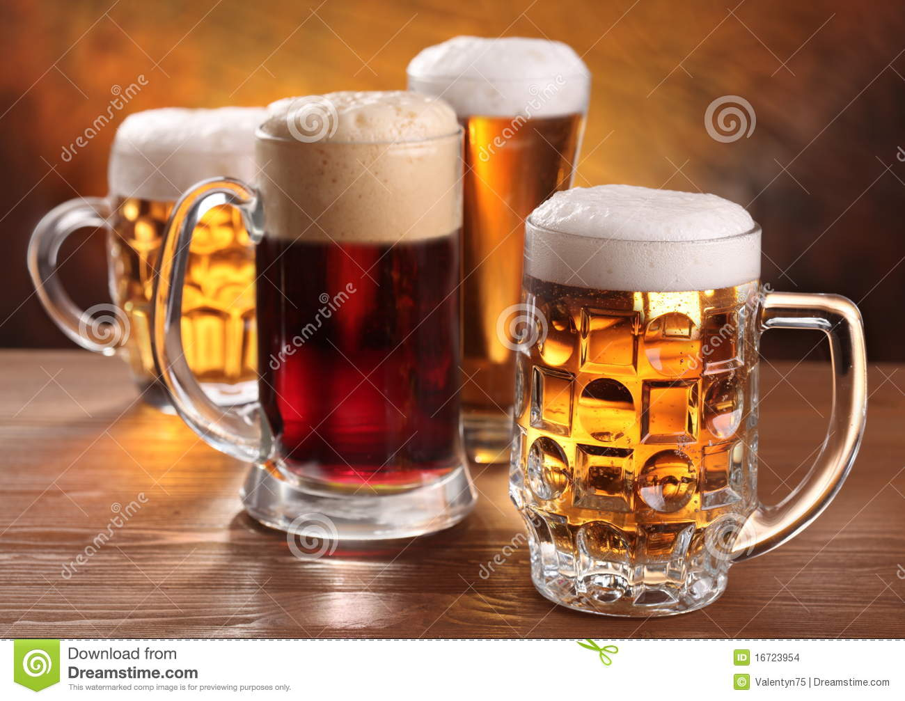 cool beer mugs stock photo image of black group golden 16723954