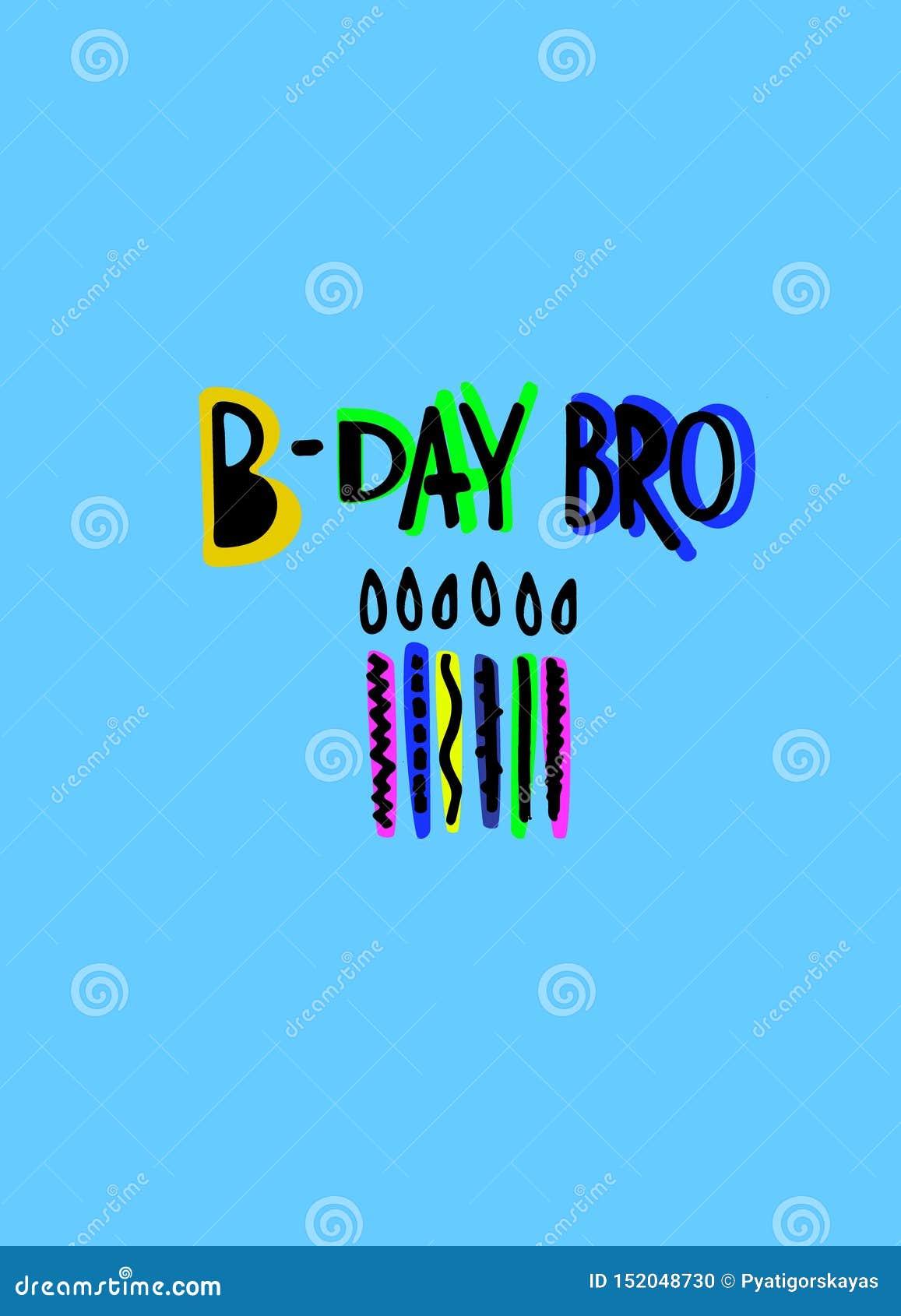 Cool Birthday Greeting Card For Boys Funny Cartoon Style