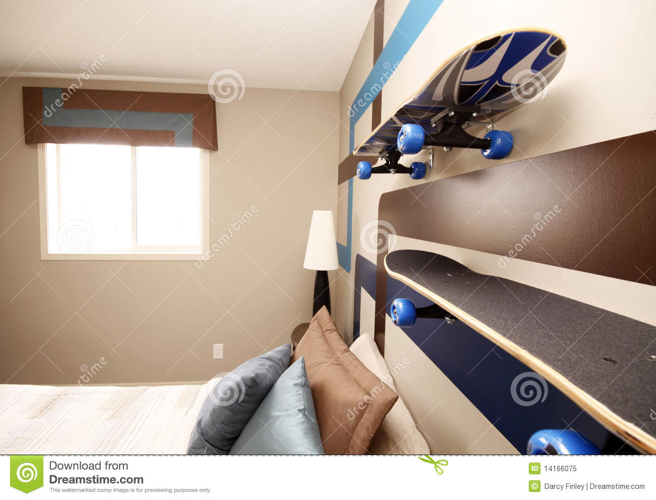 Cool Boys Bedroom Royalty Free Stock Photo - Image: 14166075