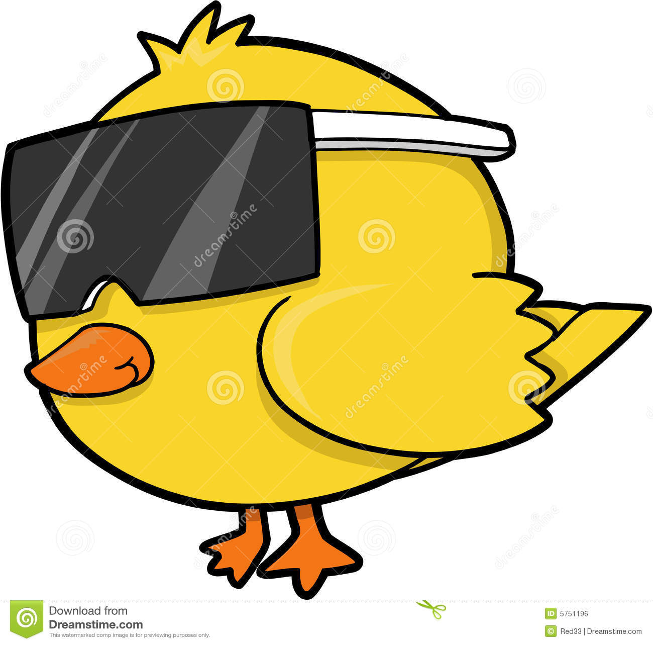 Cool Chick Vector Royalty Free Stock Image - Image: 5751196