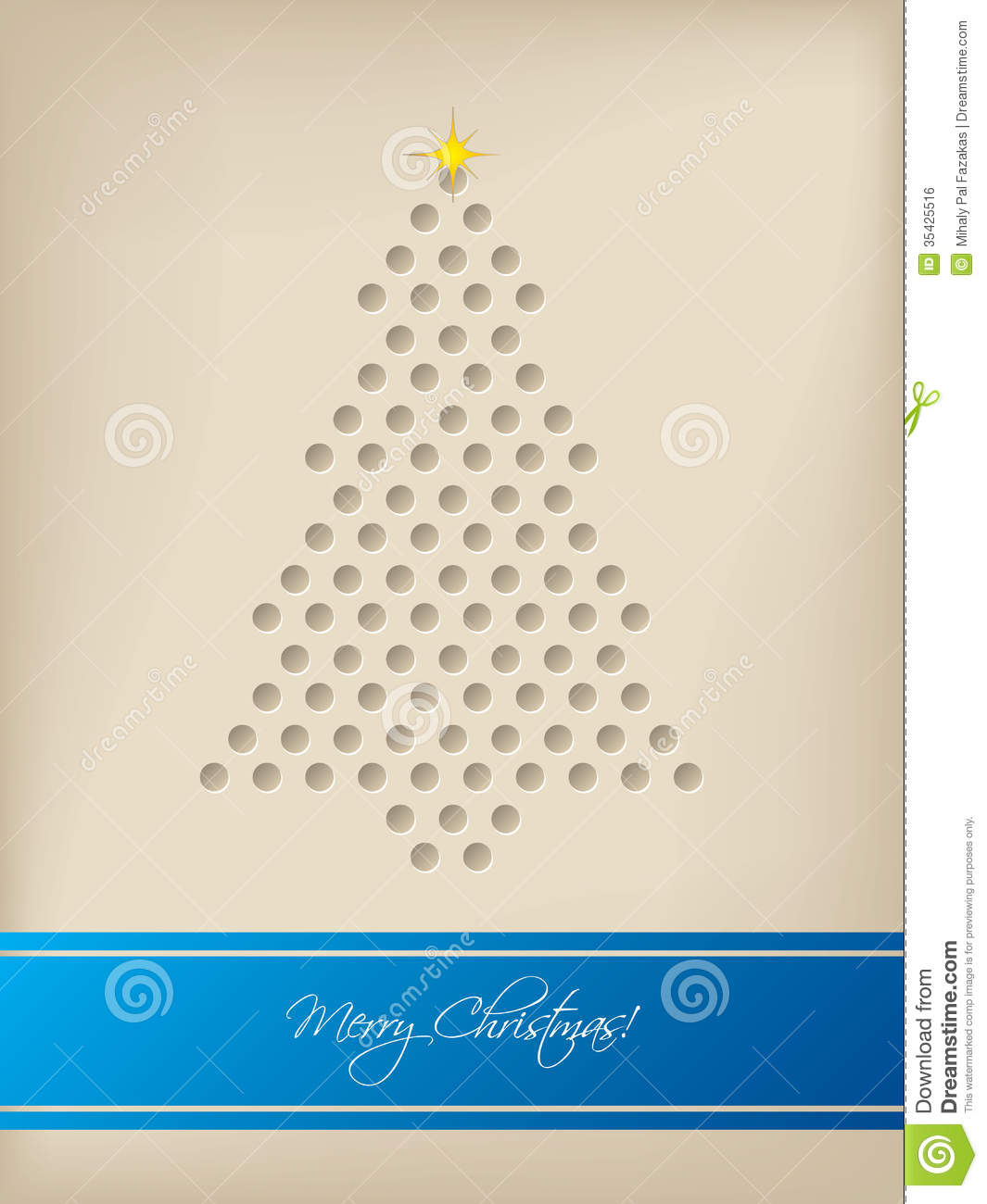 Cool christmas card with tree shaped dots stock vector download cool christmas card with tree shaped dots stock vector illustration of star cheerful m4hsunfo