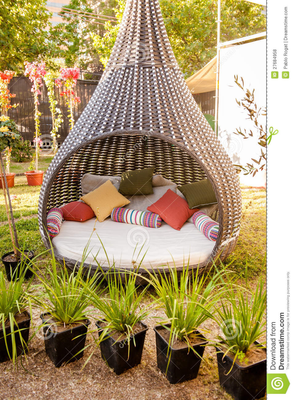 Cool Furniture For The Garden Royalty Free Stock Photos ...