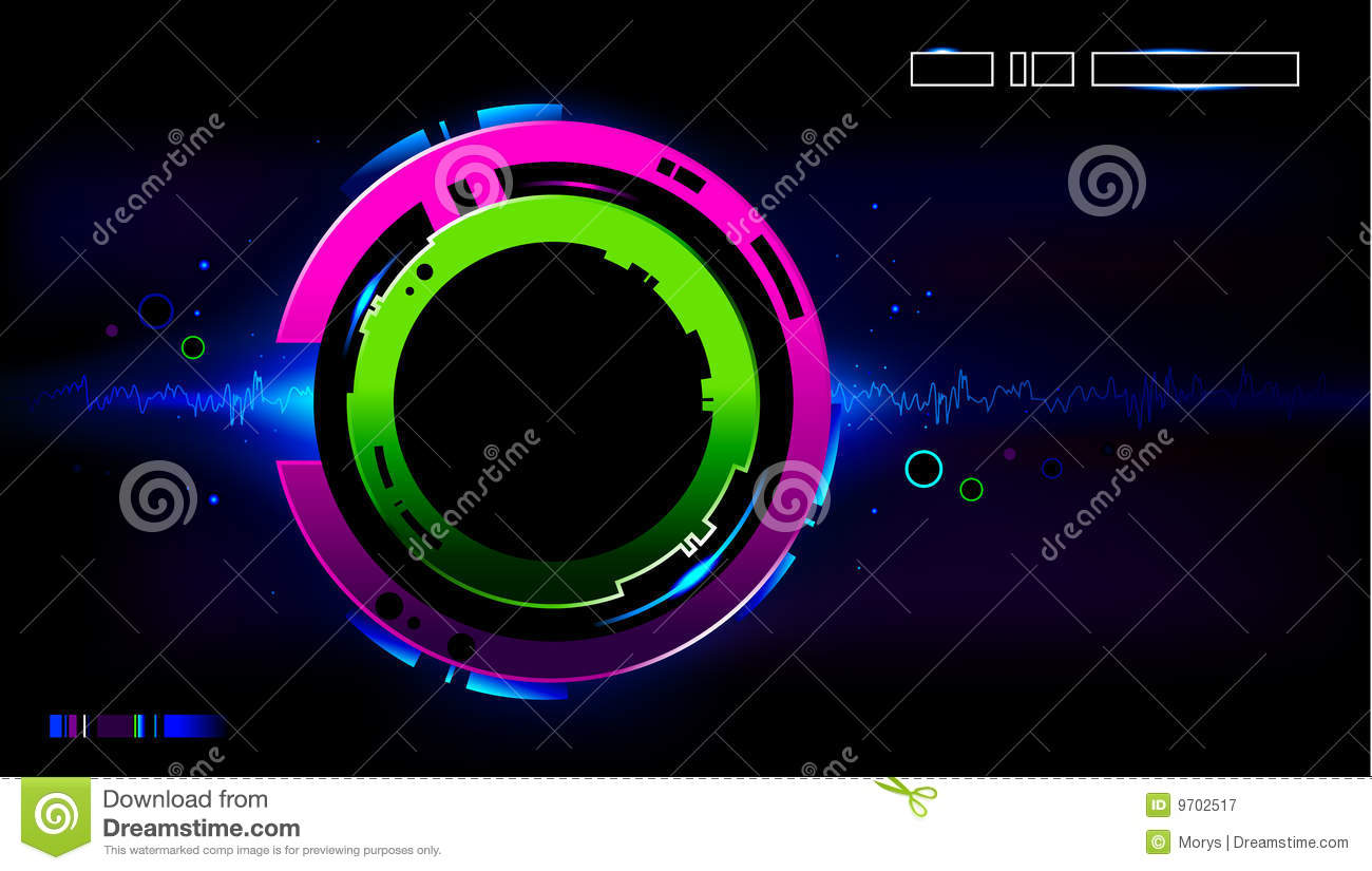 cool futuristic background stock vector illustration of