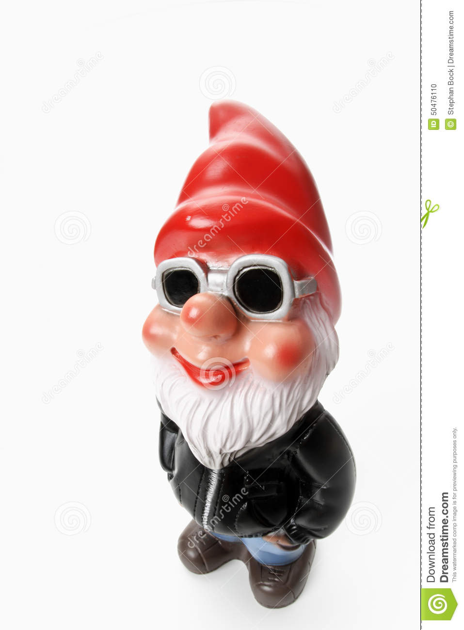 Cool Garden Gnome Wearing Sun Glasses Stock Photo - Image: 50476110