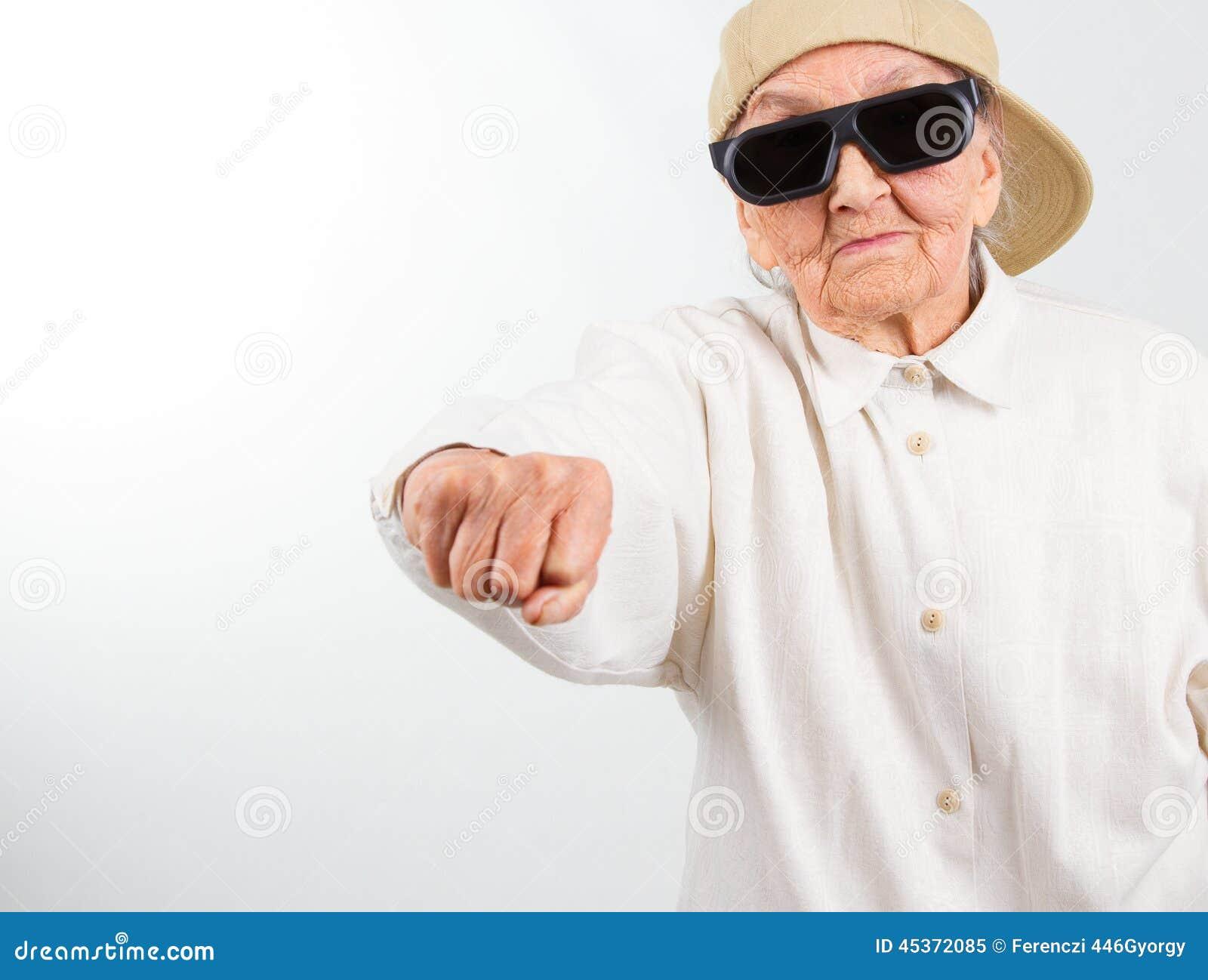 Fat granny fisting