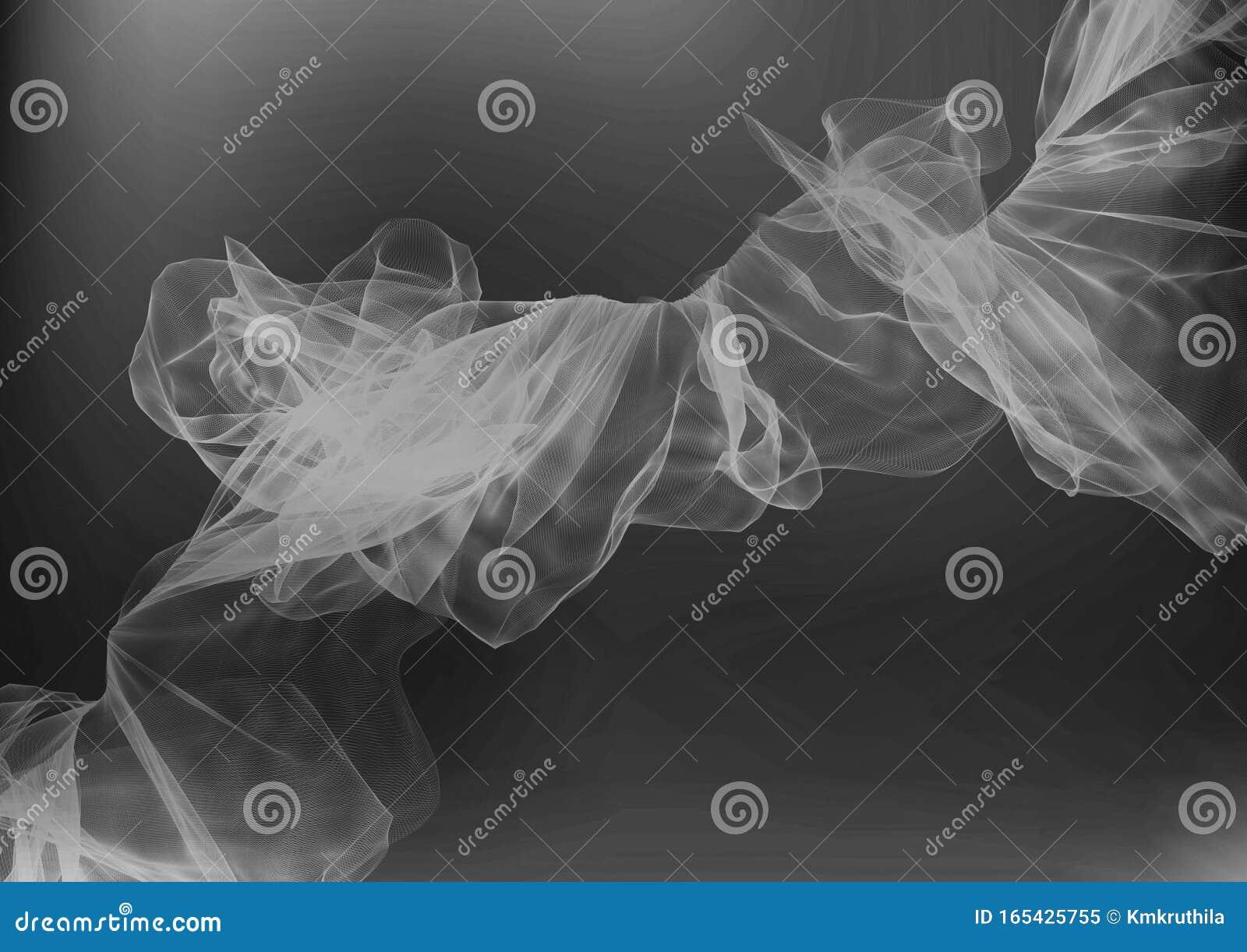 Cool Grey Smoke Background Stock Image Image Of Decoration 165425755