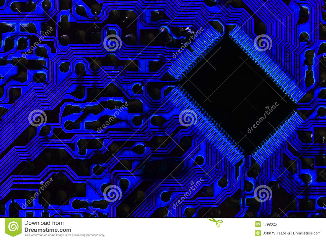 Cool Information Superhighway Circuit Stock Image Of Electronic Jr