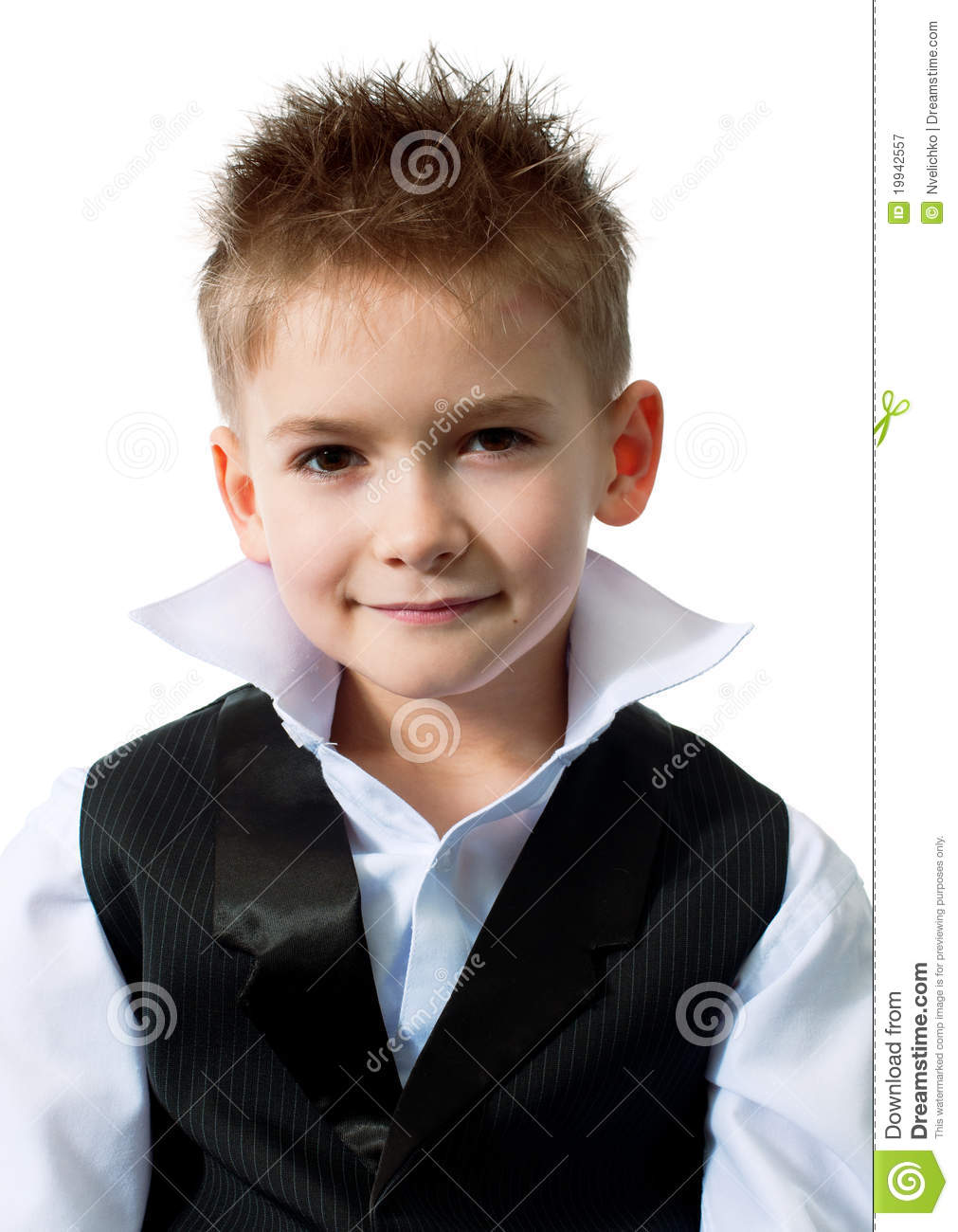 Cool Little Boy Royalty Free Stock Photography Image