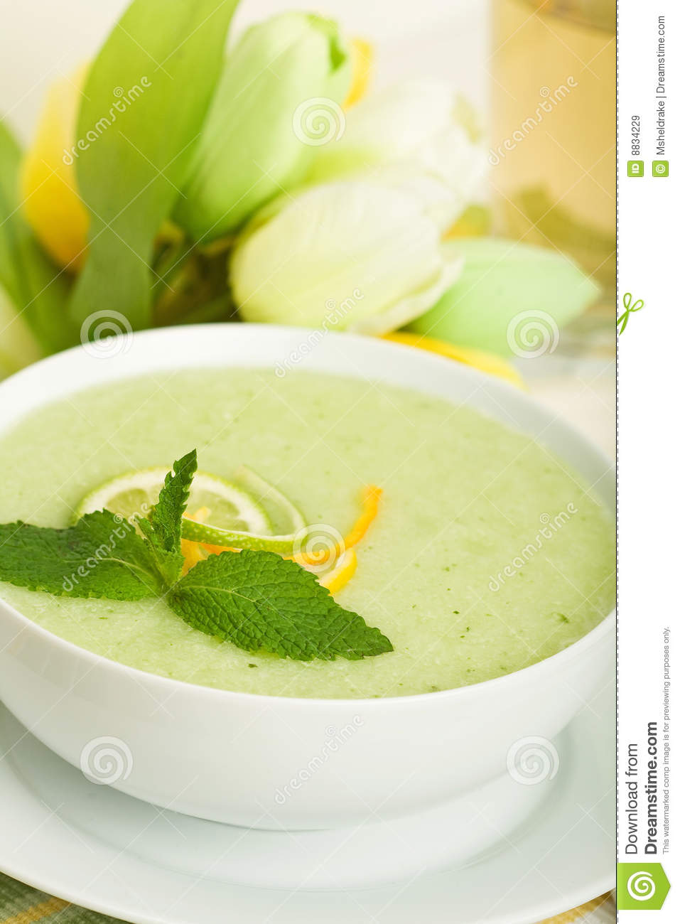 Cool Melon Soup Royalty Free Stock Images - Image: 8834229
