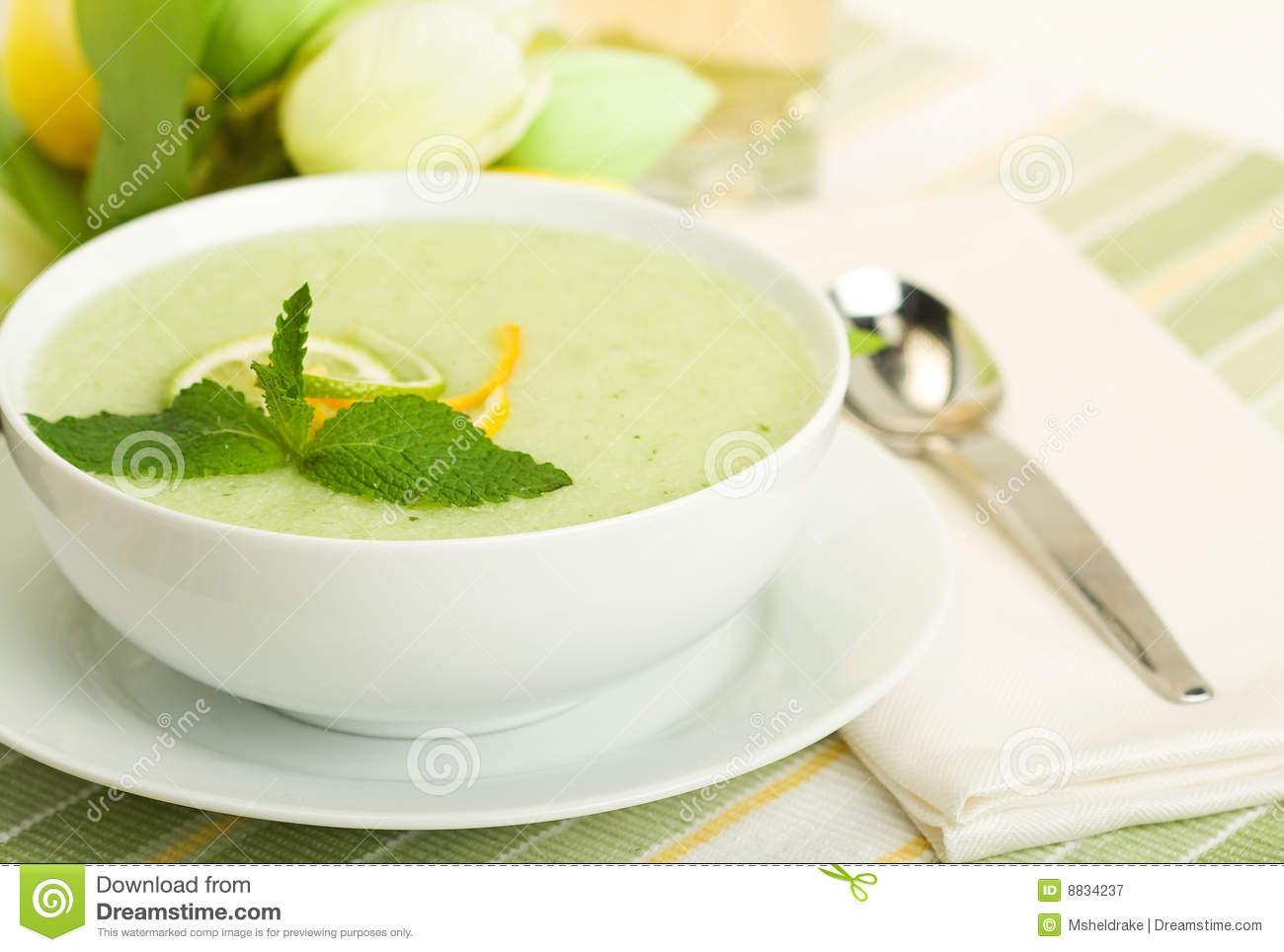 Cool Melon Soup Royalty Free Stock Photography - Image: 8834237