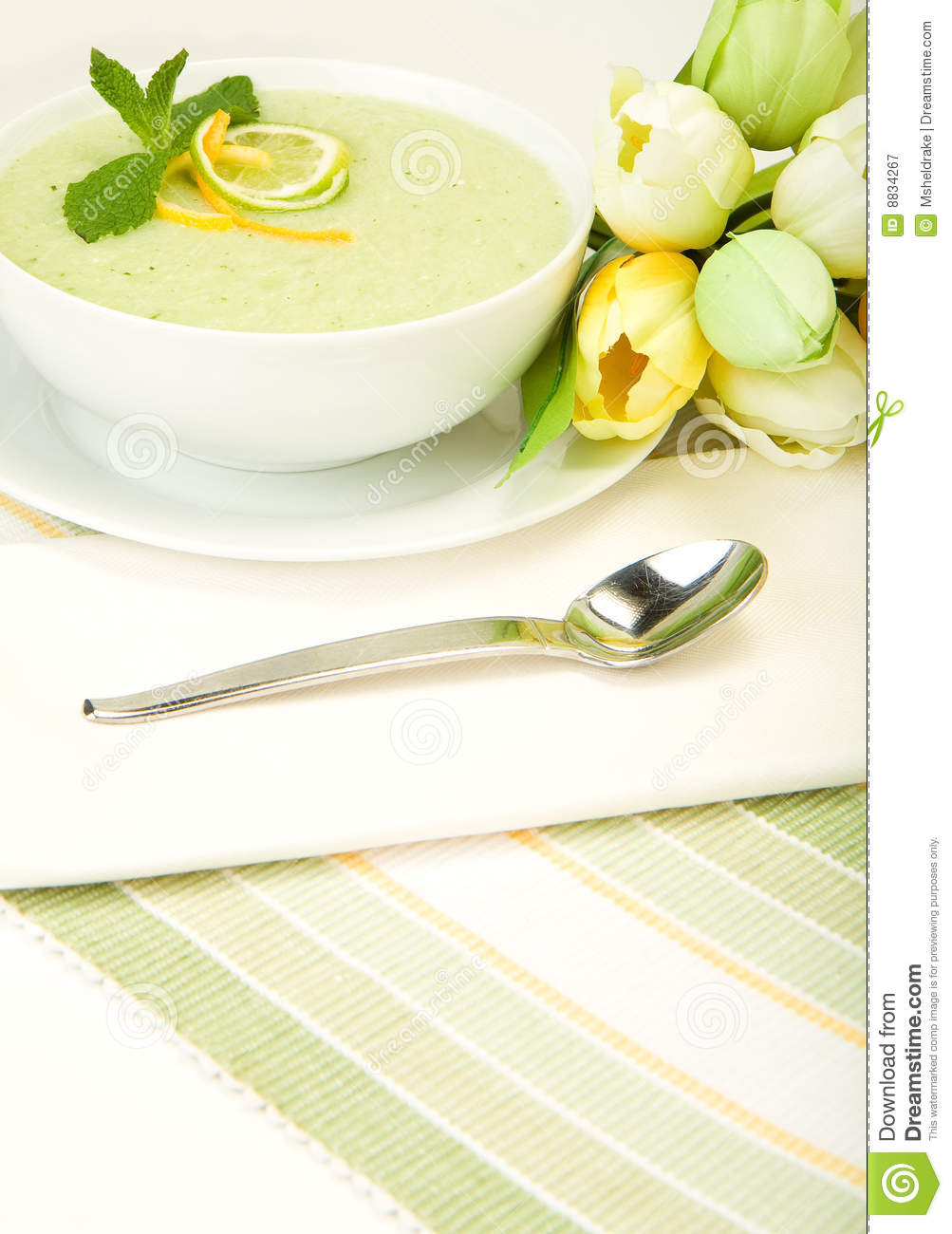 Cool Melon Soup Royalty Free Stock Photography - Image: 8834267